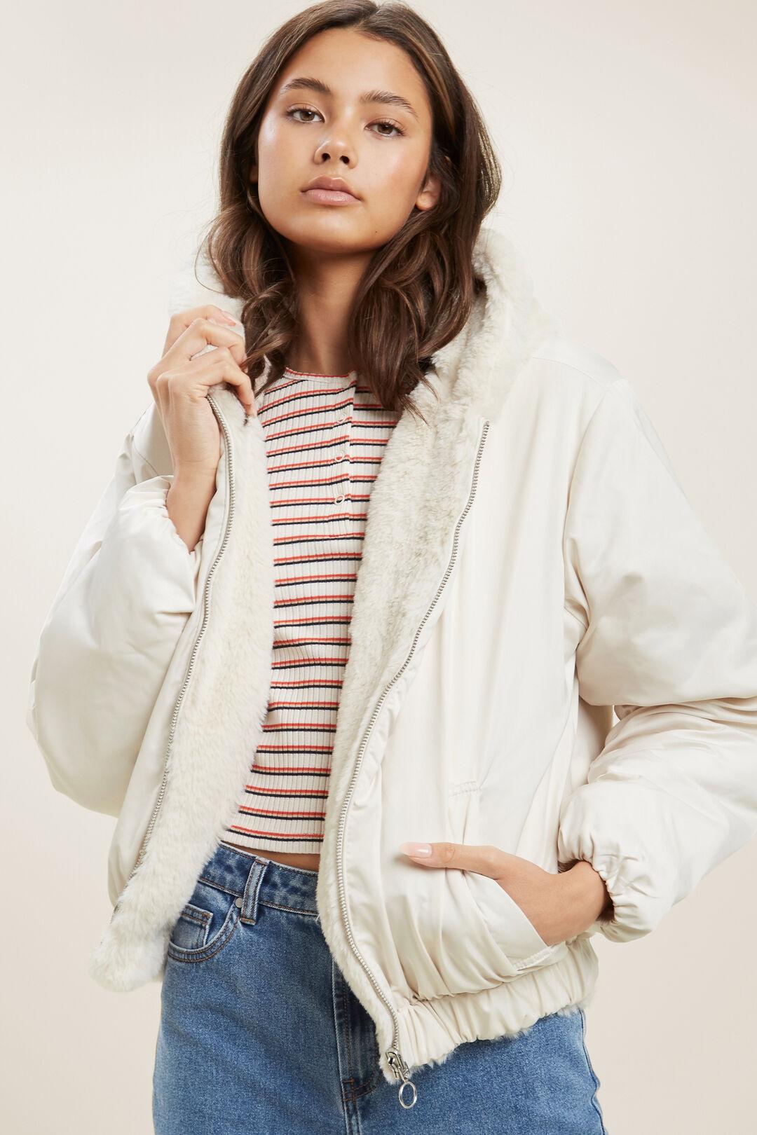 Reversible Jacket  FRENCH VANILLA  hi-res