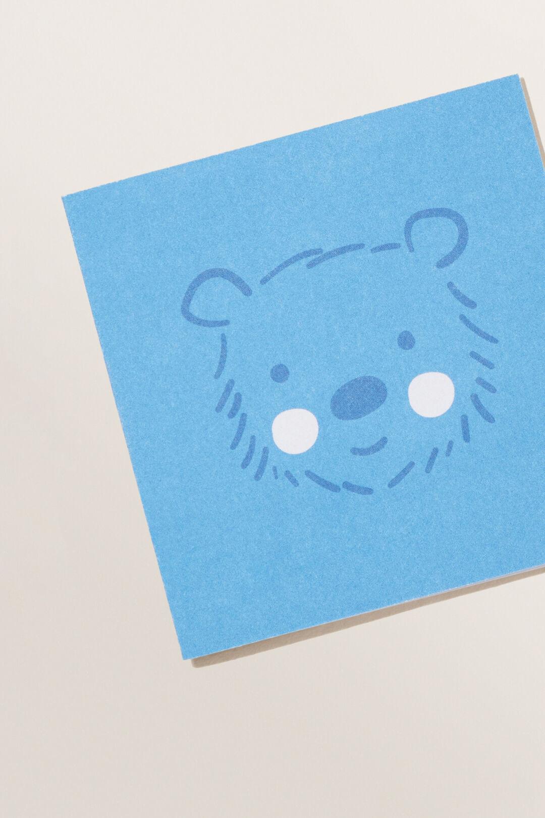 FE SML BEAR CARD  MULTI  hi-res