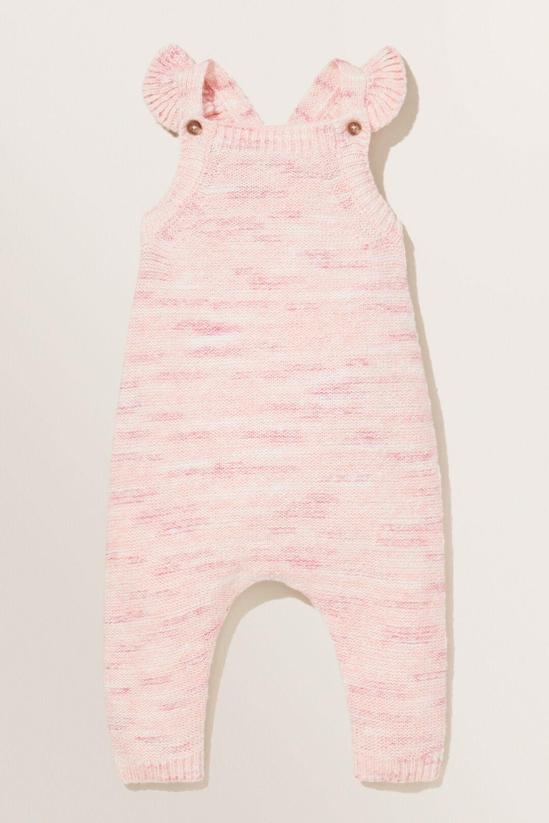 Knit Overalls  BERRY  hi-res