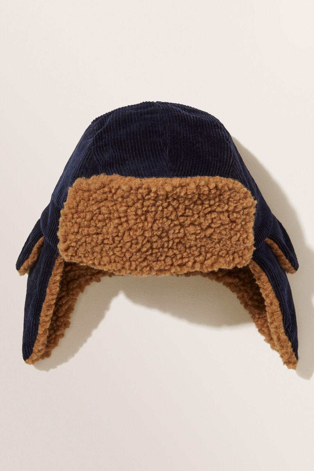 Corduroy Trapper Hat  MULTI  hi-res