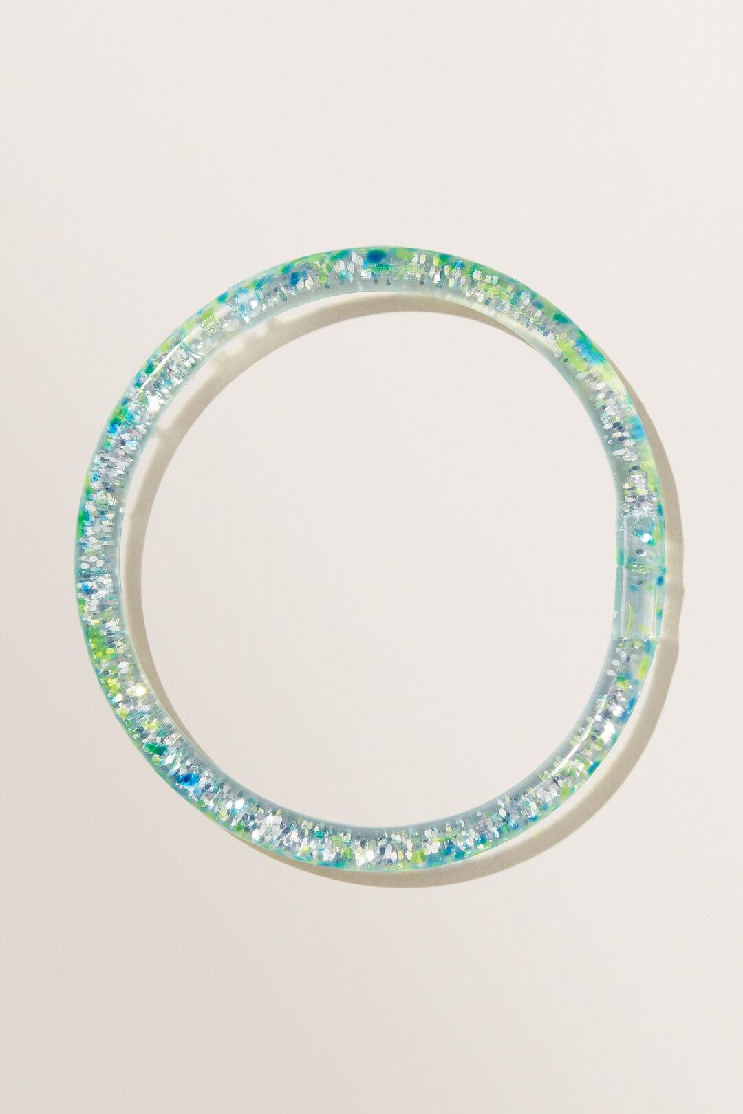 Rainbow Glitter Bangles  MULTI  hi-res