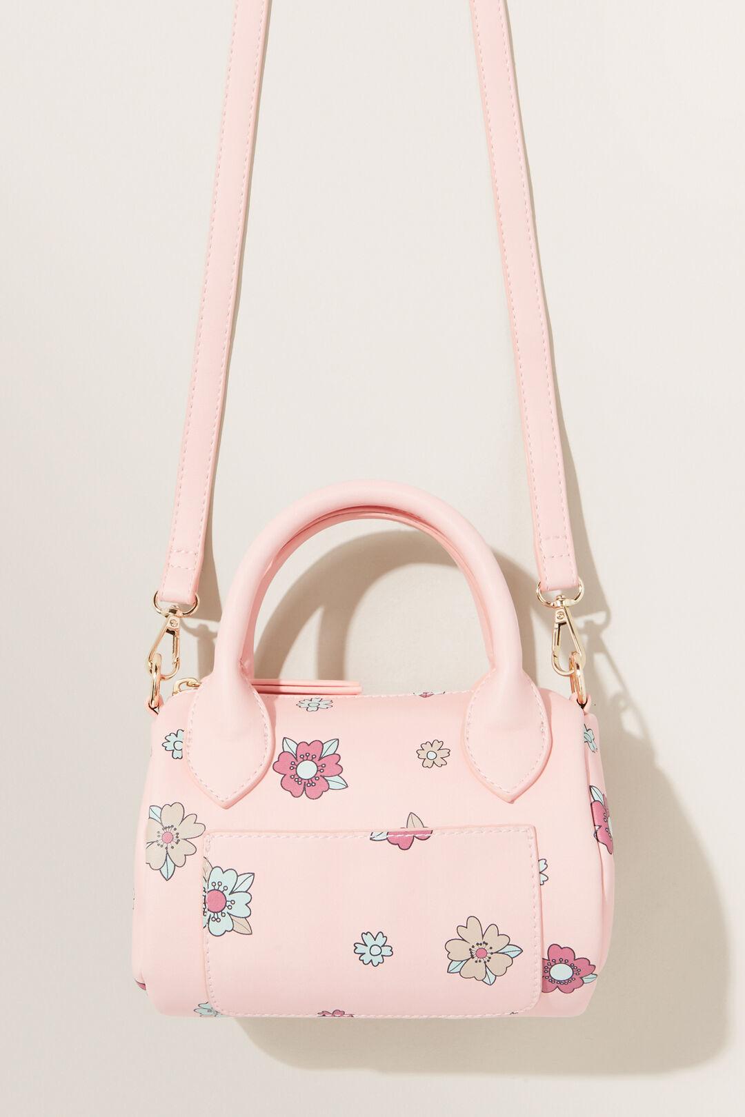 Floral Bowling Bag  DUSTY ROSE  hi-res