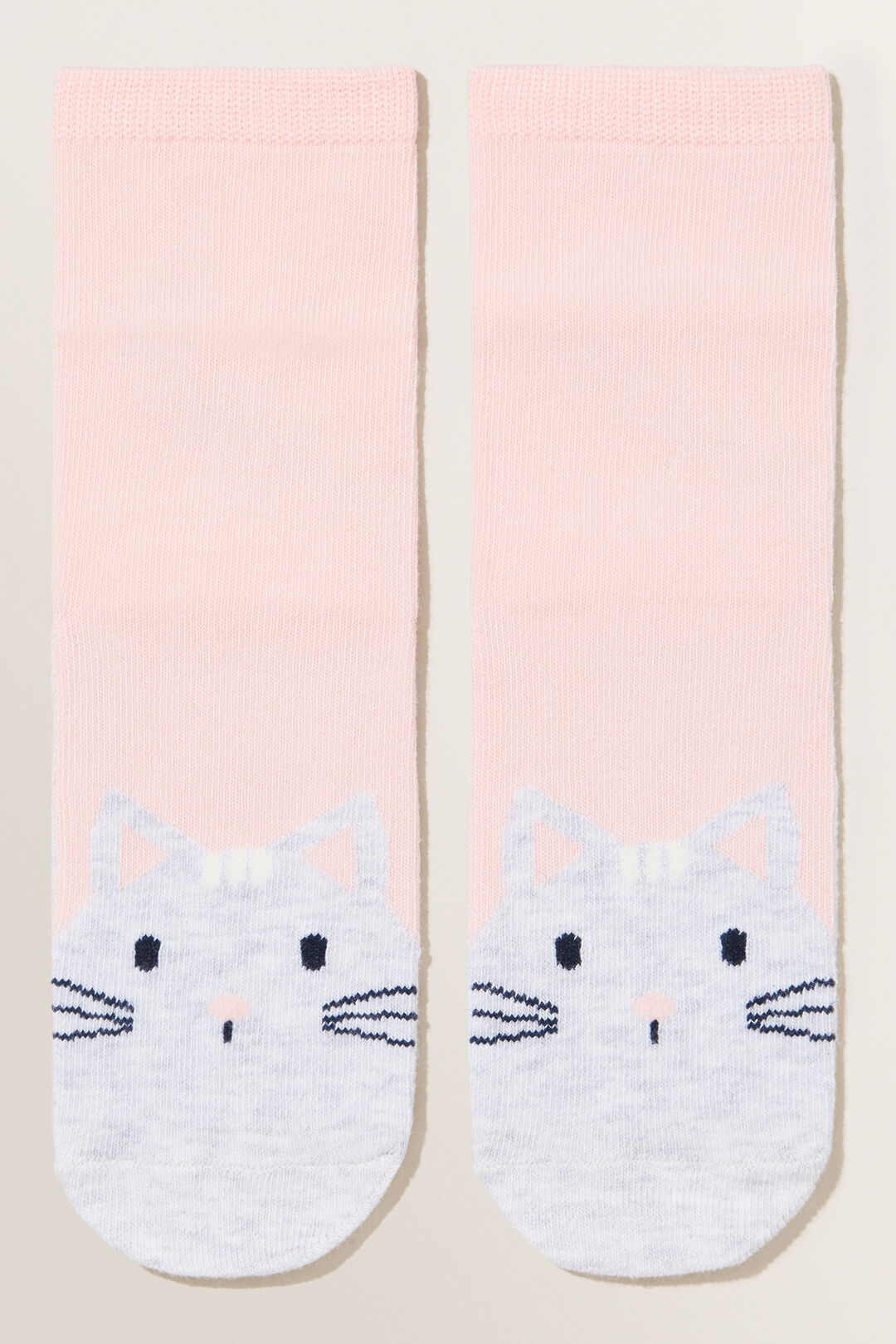 Kitty Socks  DUSTY ROSE  hi-res