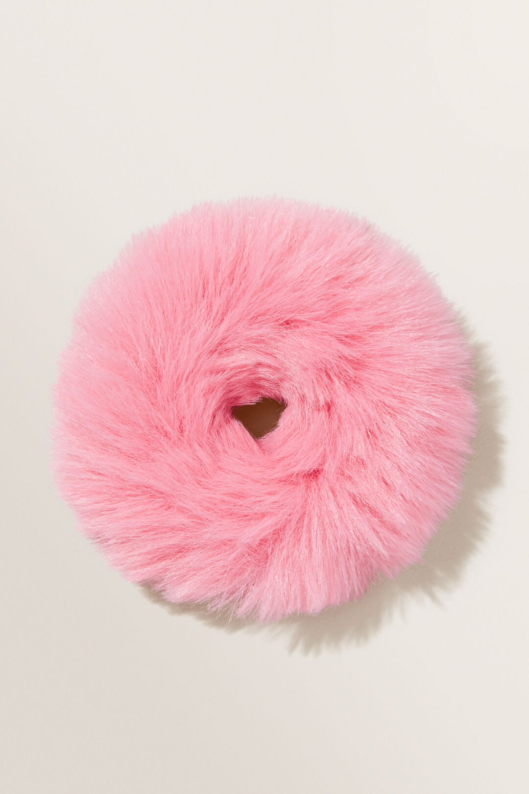 Fluffy Scrunchie  BERRY  hi-res