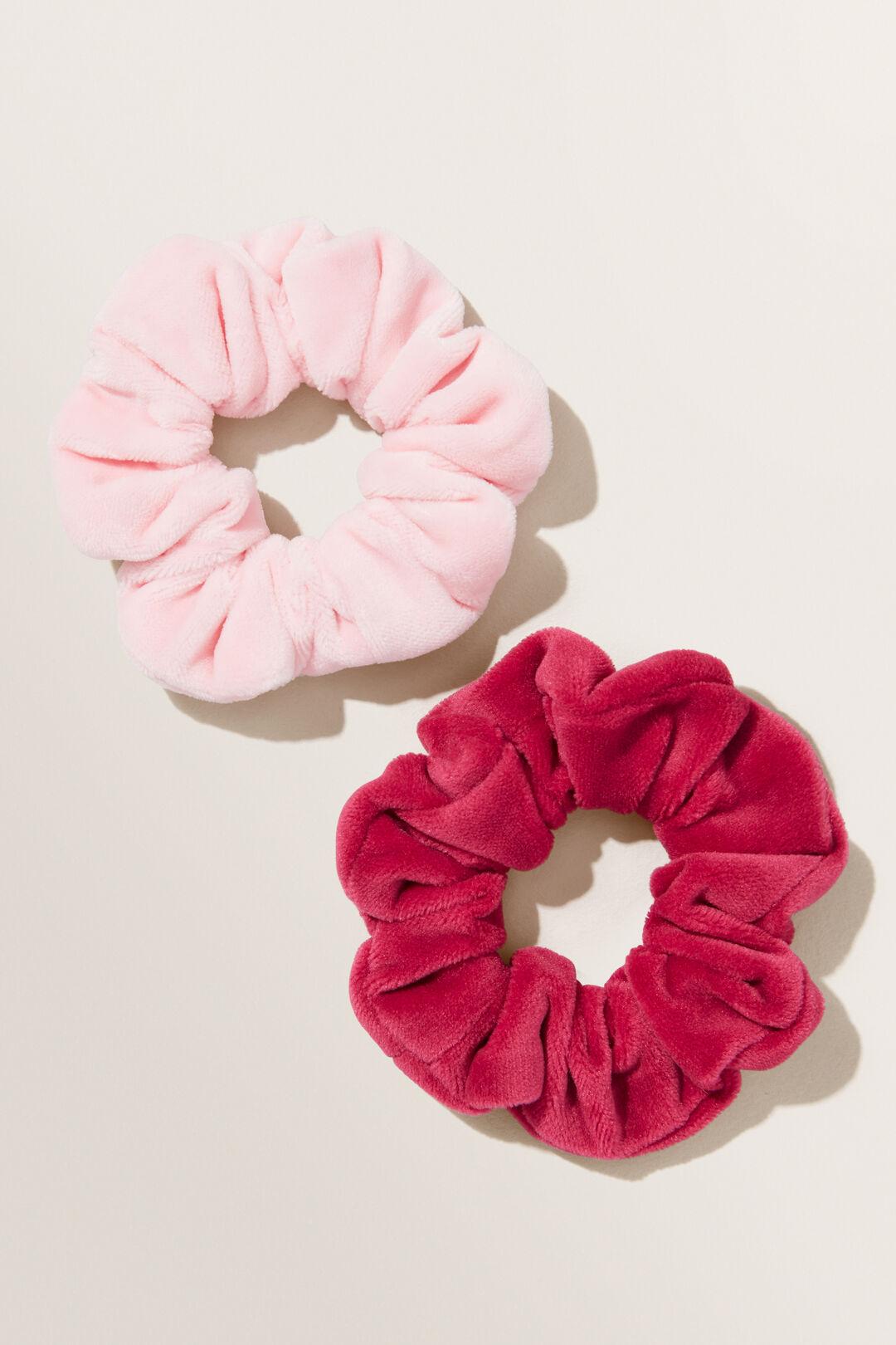 Velvet Scrunchie 2pk  MULTI  hi-res