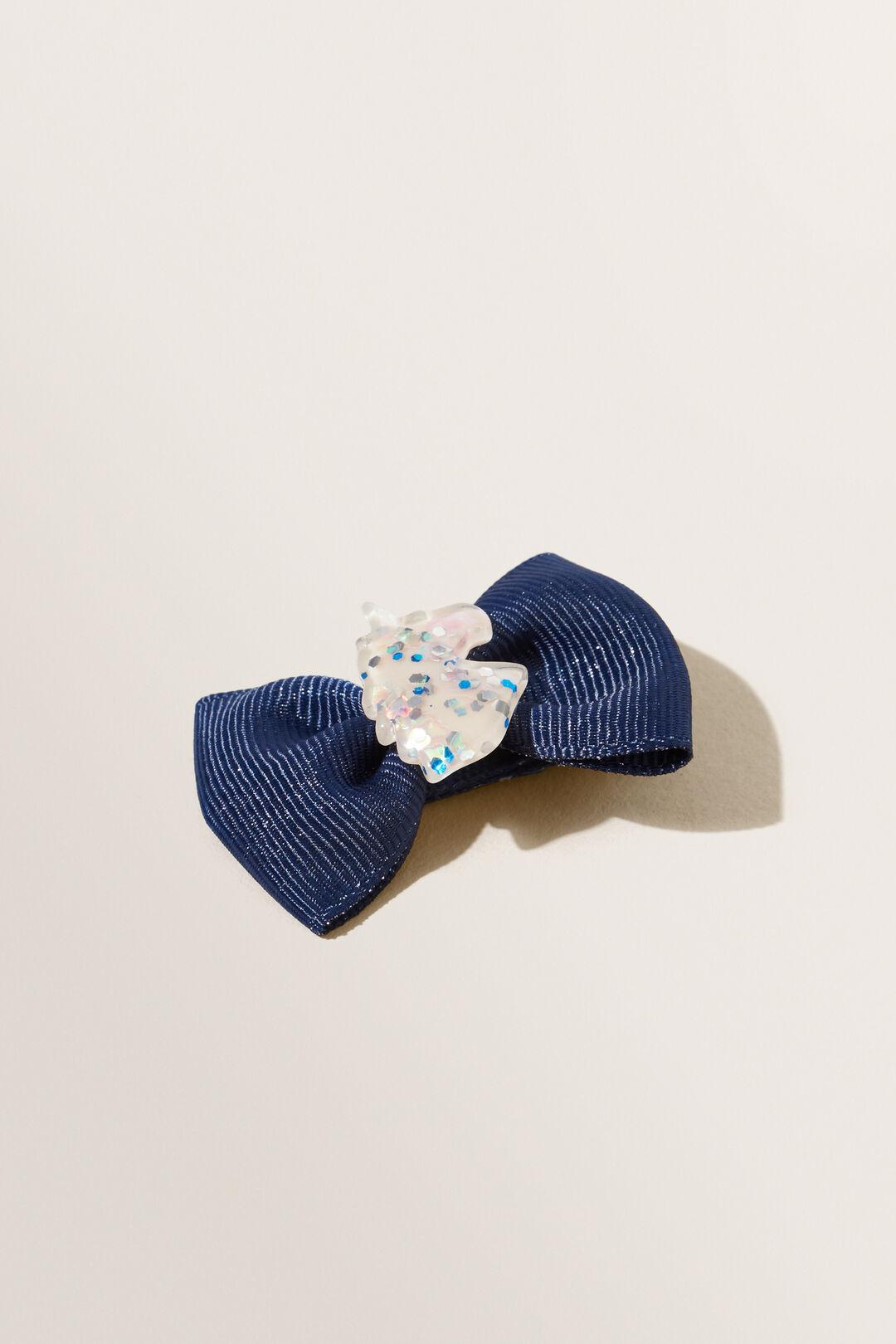 Unicorn Bow Clip  MULTI  hi-res