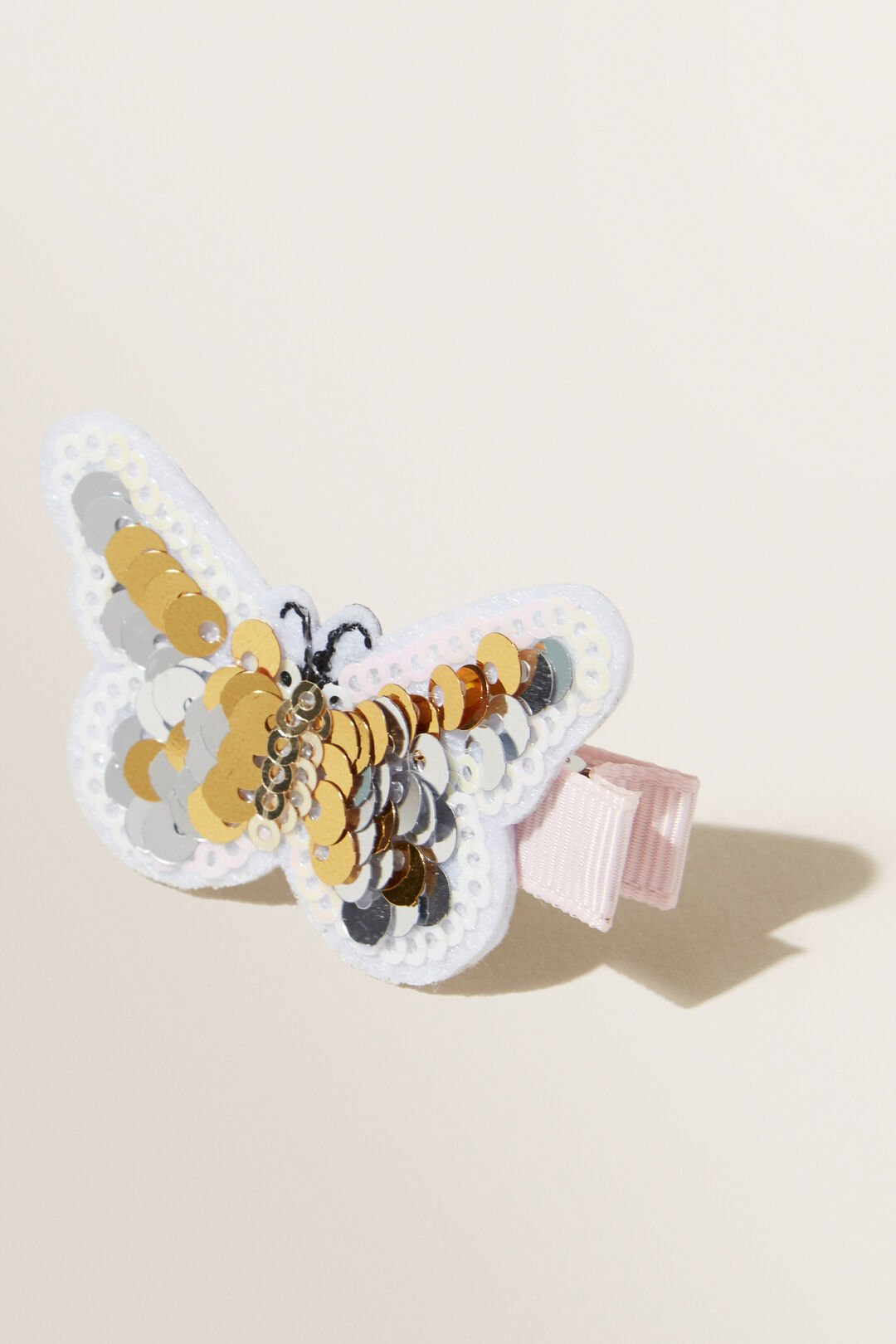 Sequin Butterfly Clip  MULTI  hi-res