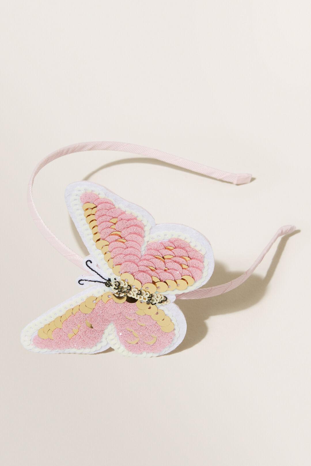 Sequin Butterfly Headband  MULTI  hi-res