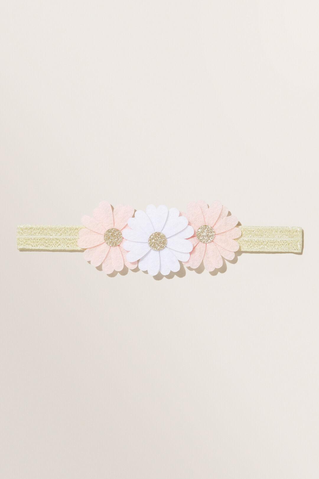 Elastic Flower Headband  MULTI  hi-res