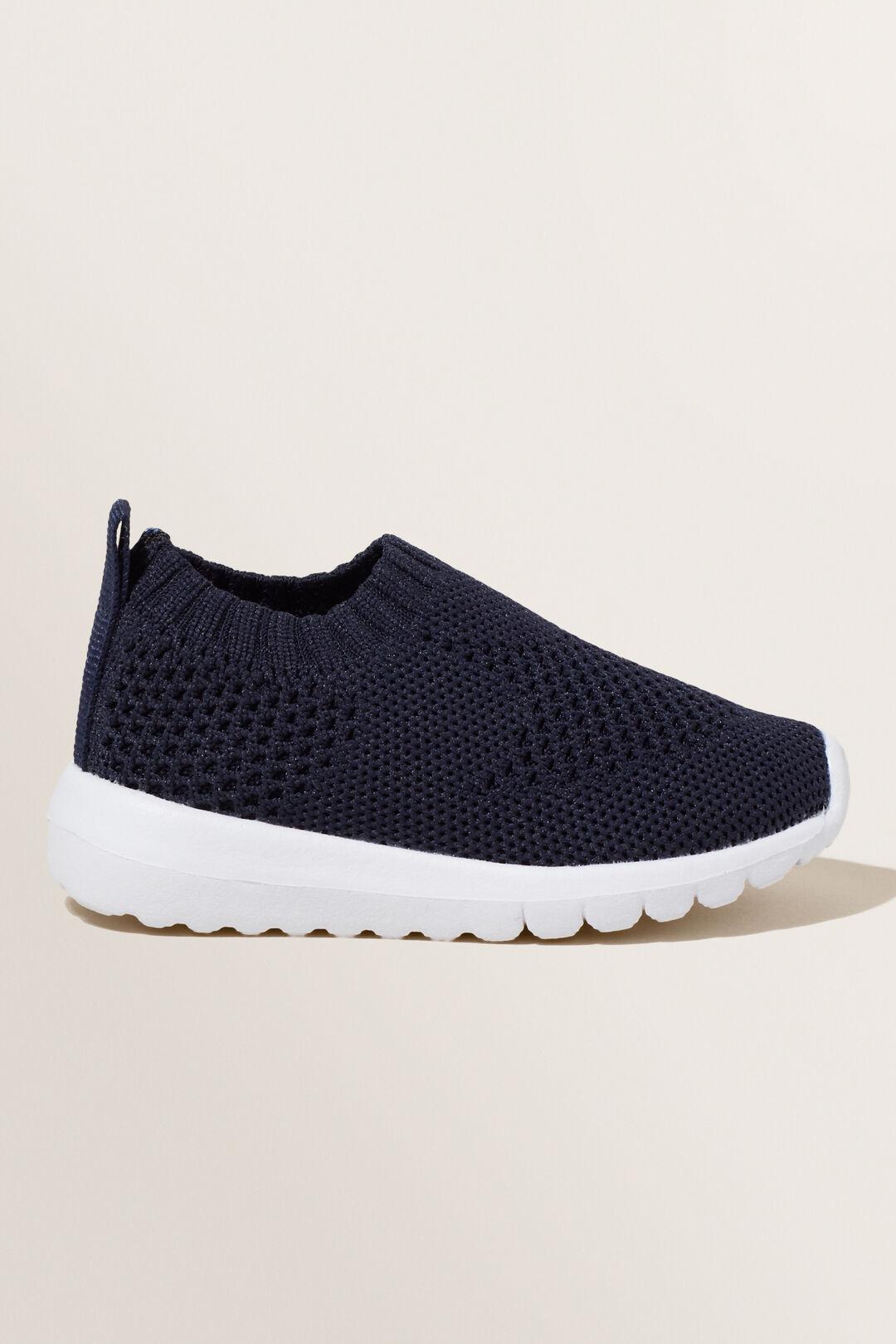 Knit Sneaker  NAVY  hi-res
