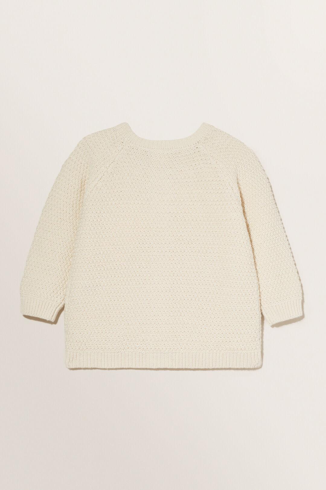 Knit Cardigan  RICH CREAM  hi-res