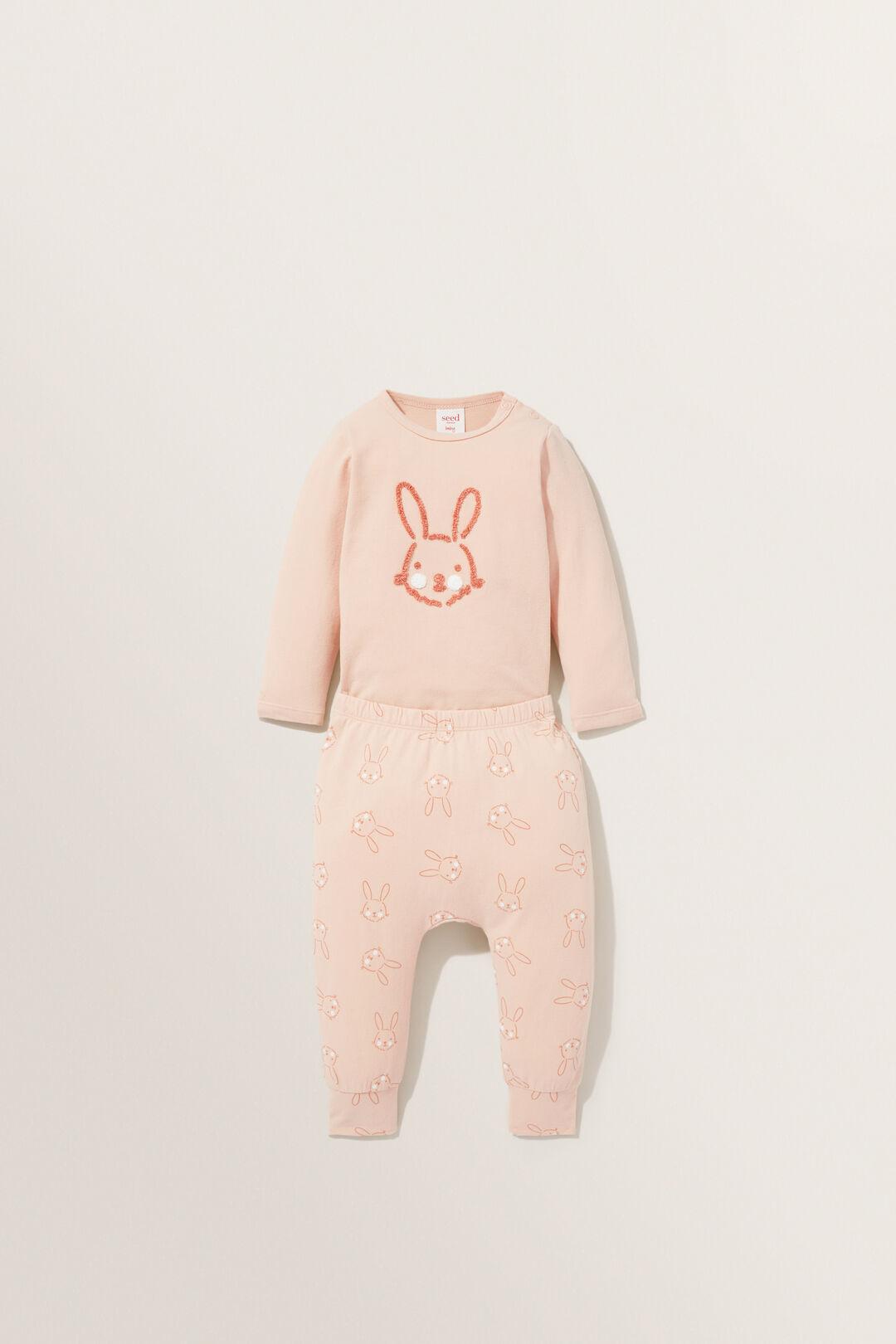 Bunny Legging  ROSEHIP  hi-res