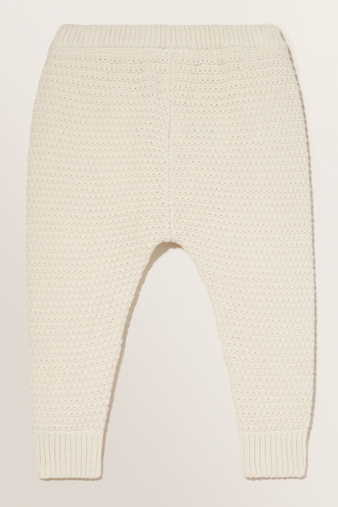 Knitted Stitch Pant  RICH CREAM  hi-res