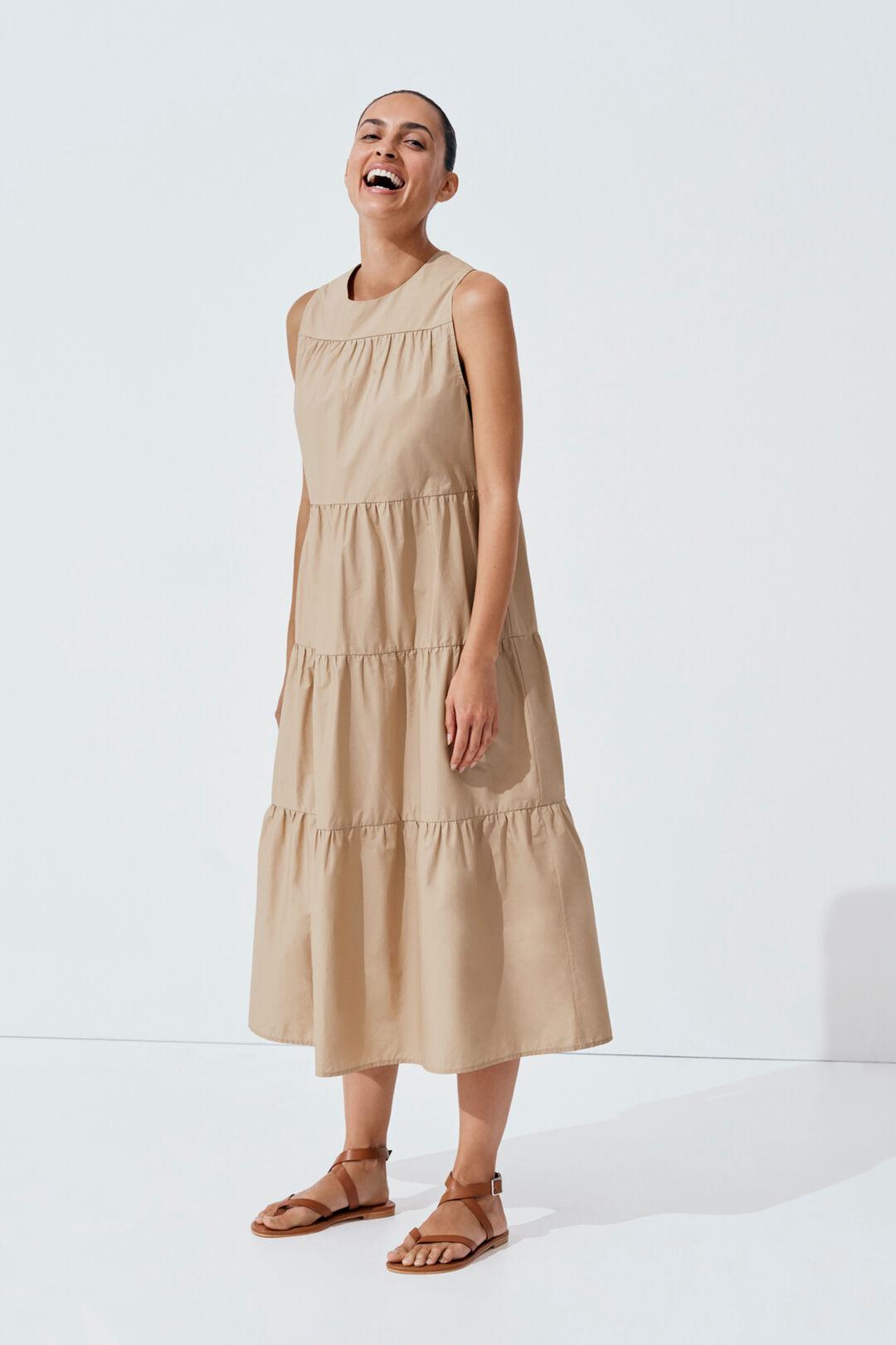 Trapeze Dress  BISCOTTI  hi-res