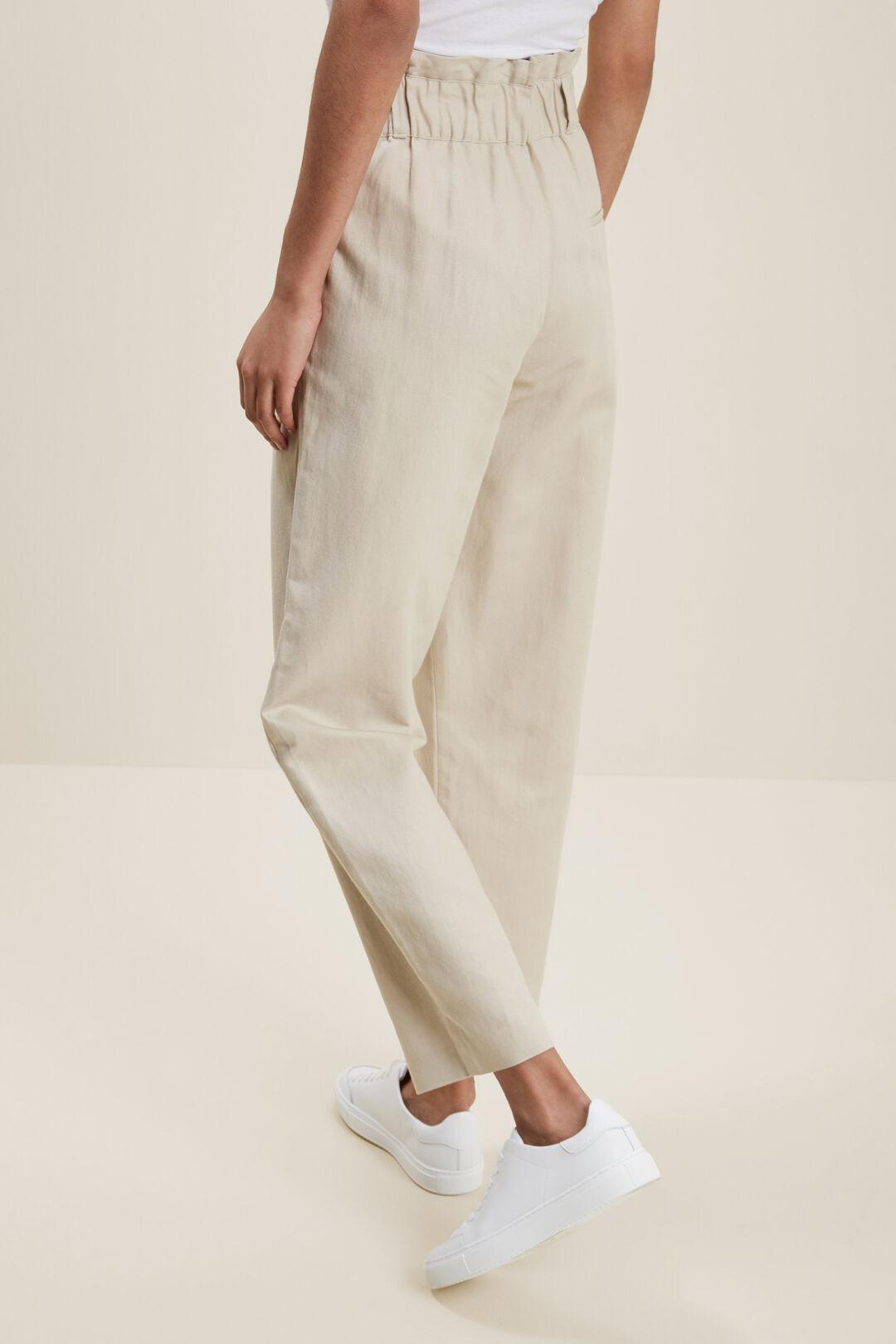High Rise Tailored Pant  HAZEL WOOD  hi-res