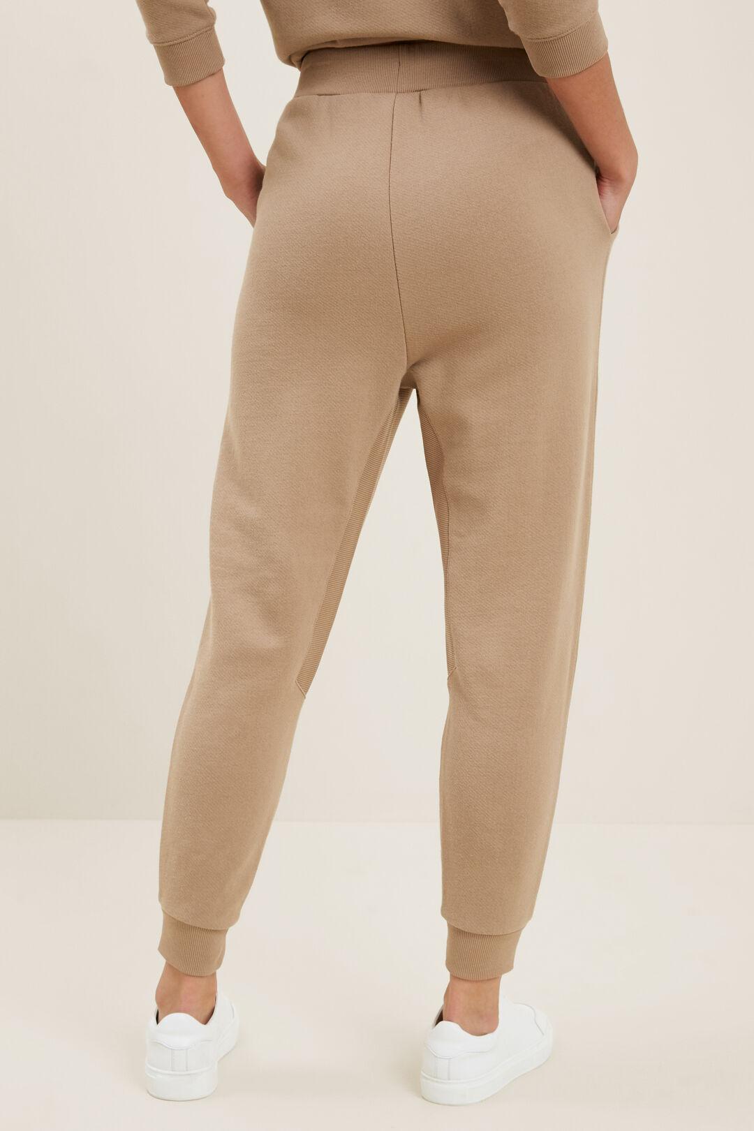 Relaxed Drop Crotch Pant   HONEY DEW  hi-res
