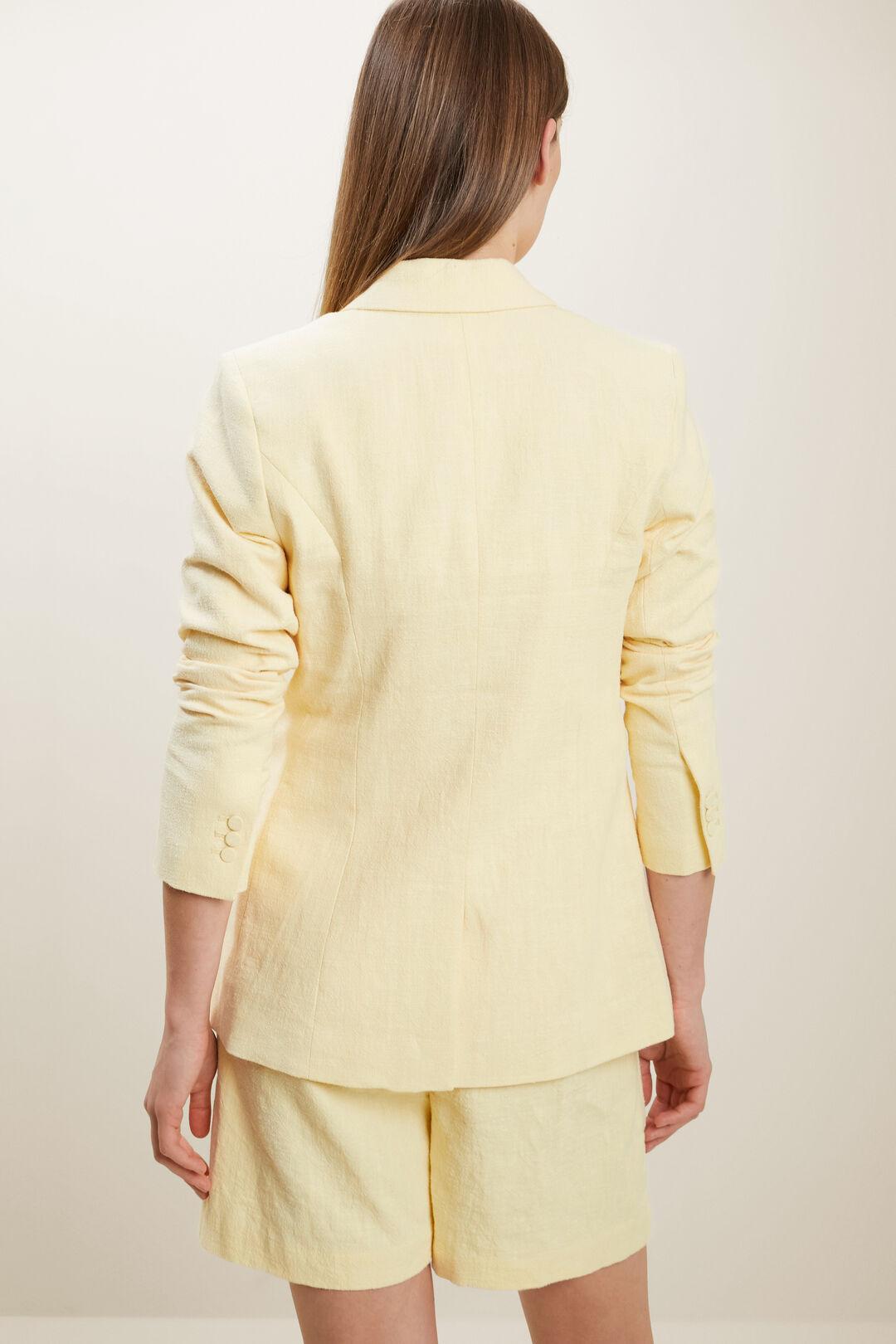 Textured Blazer  LIMONCELLO  hi-res