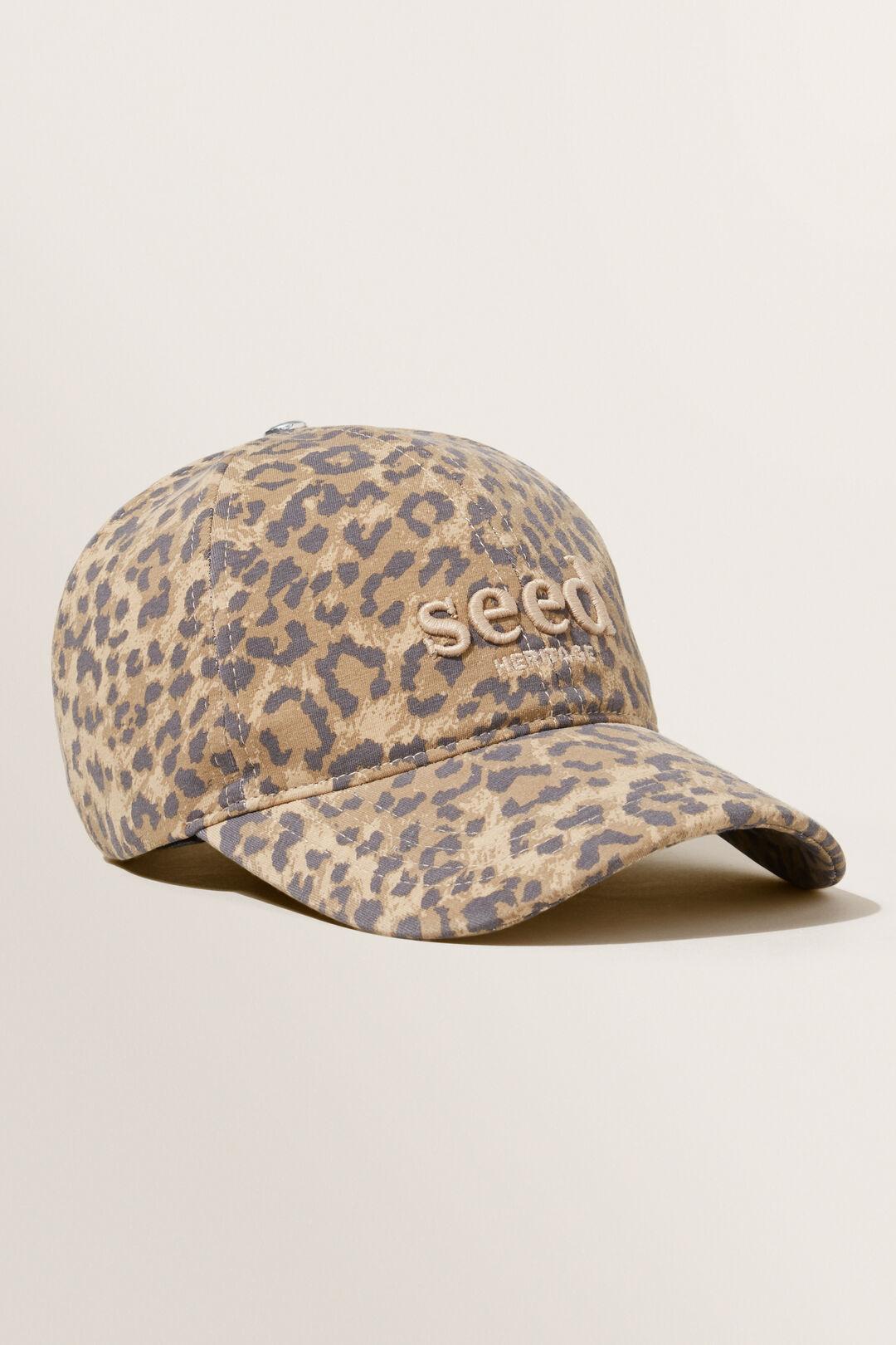 Jersey Cap  BEIGE OCELOT  hi-res