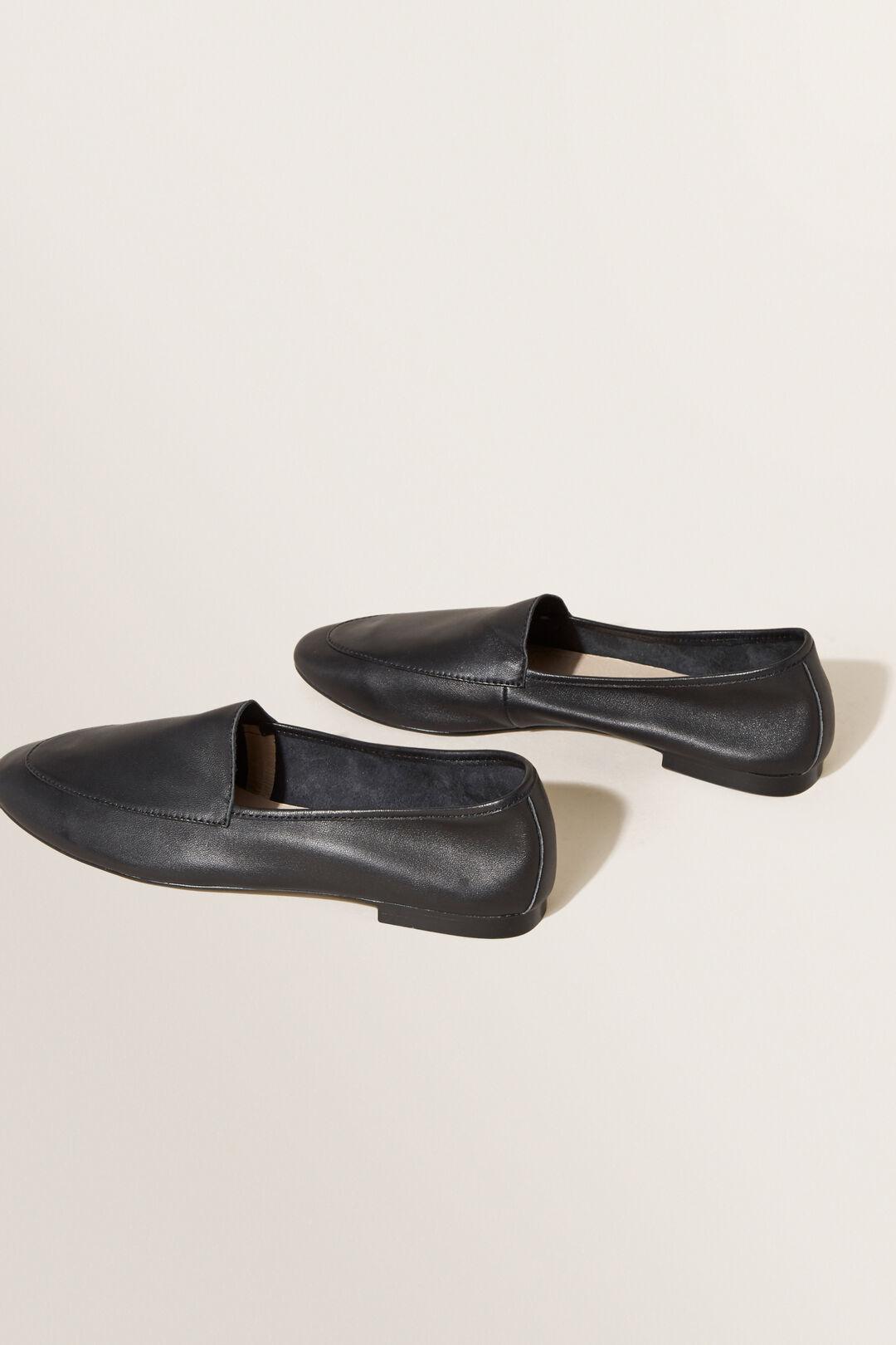 Leather Loafer  BLACK  hi-res