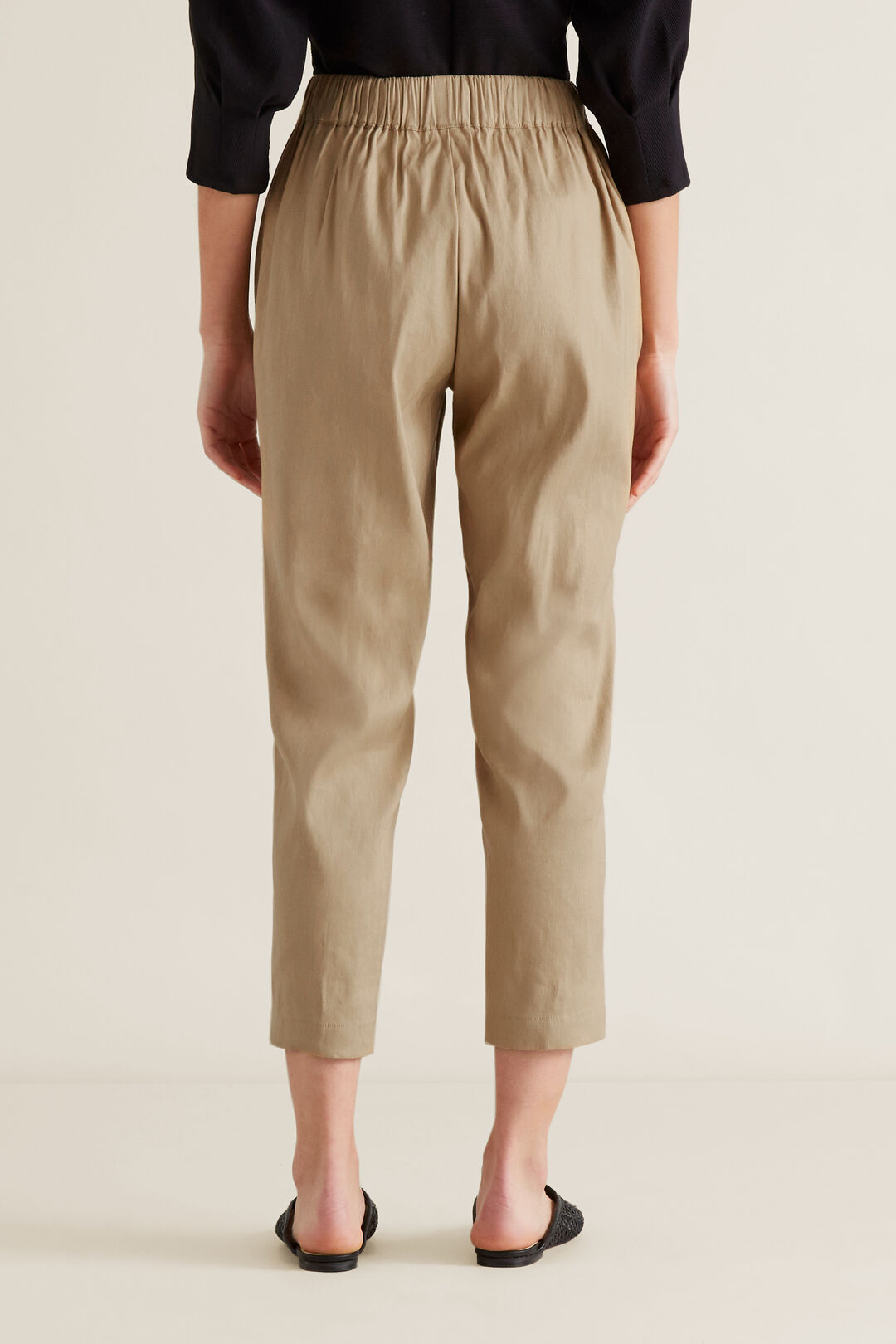 Stitch Front Pant  WARM TAN  hi-res