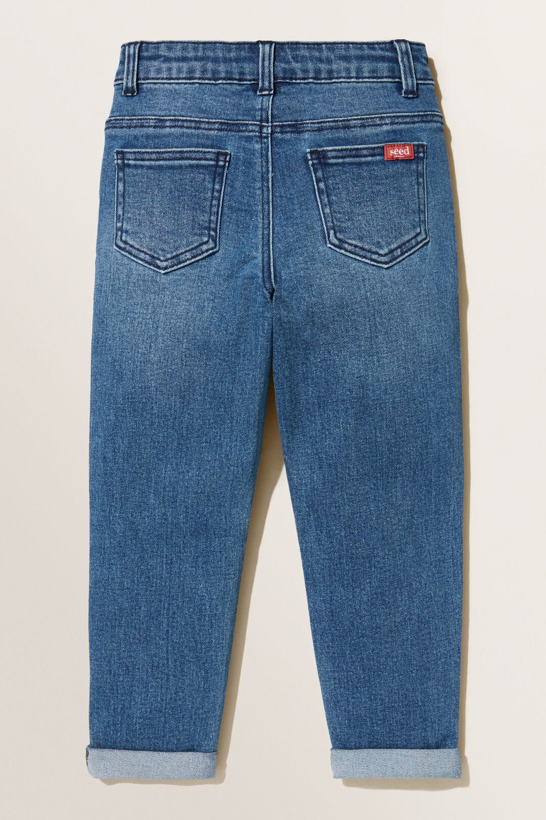 Tapered Jeans  MID WASH  hi-res