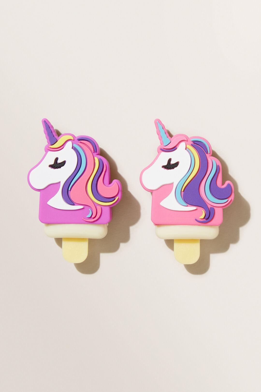 Unicorn Lip Gloss 2 Pack  MULTI  hi-res