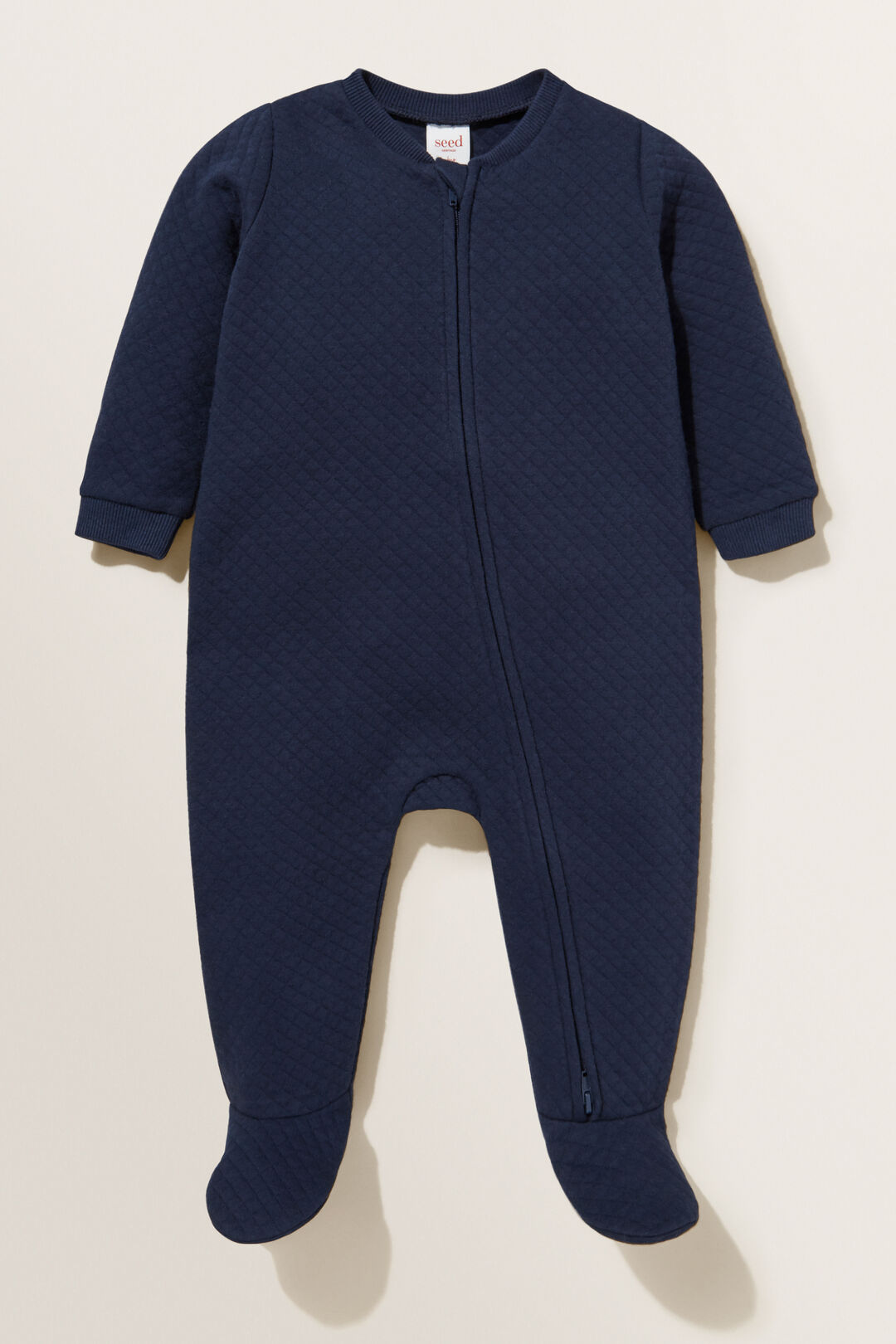QuiltZip Coverall  NAVY  hi-res