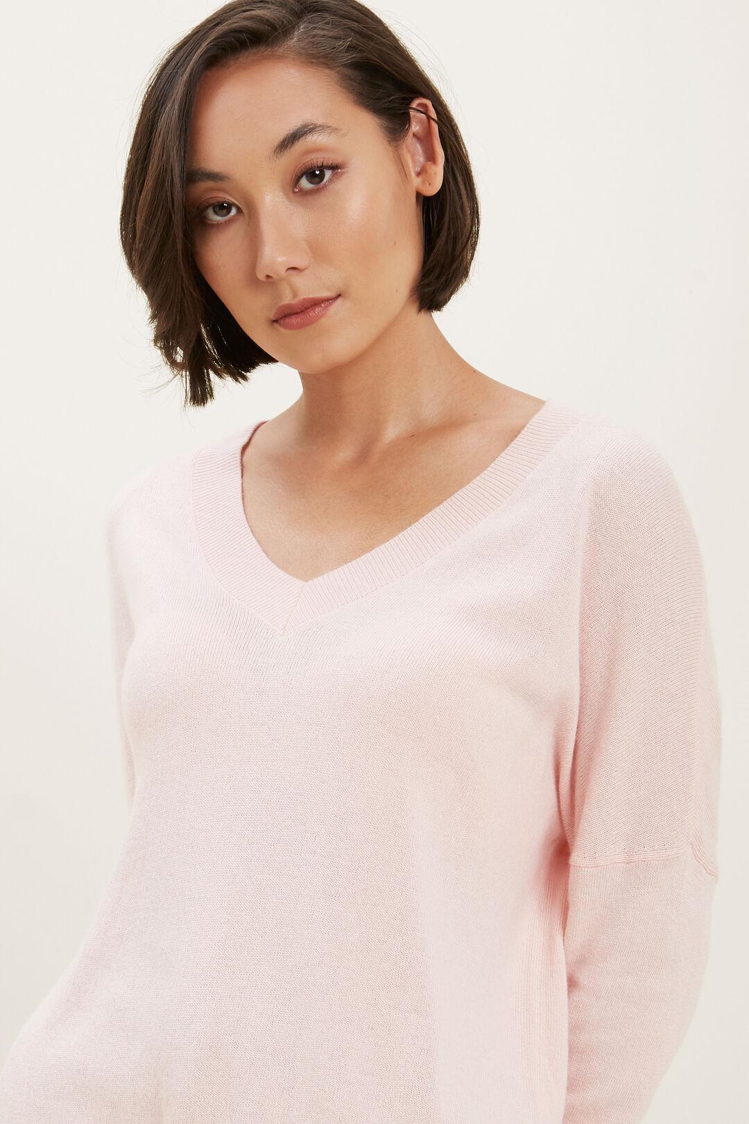 Basic Sweater  ASH PINK  hi-res