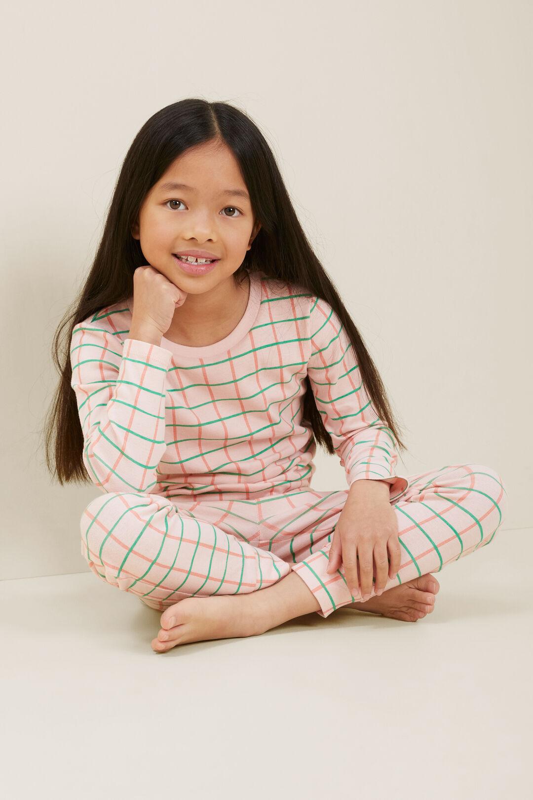 Check Pyjamas  DUSTY ROSE  hi-res