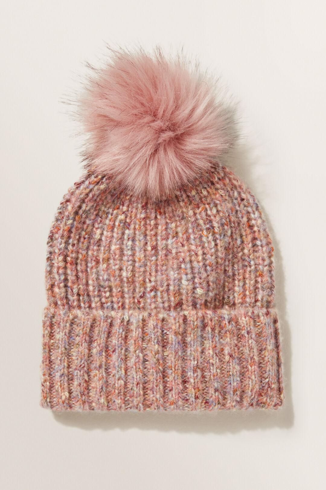 Speckle Knit Beanie  MULTI  hi-res