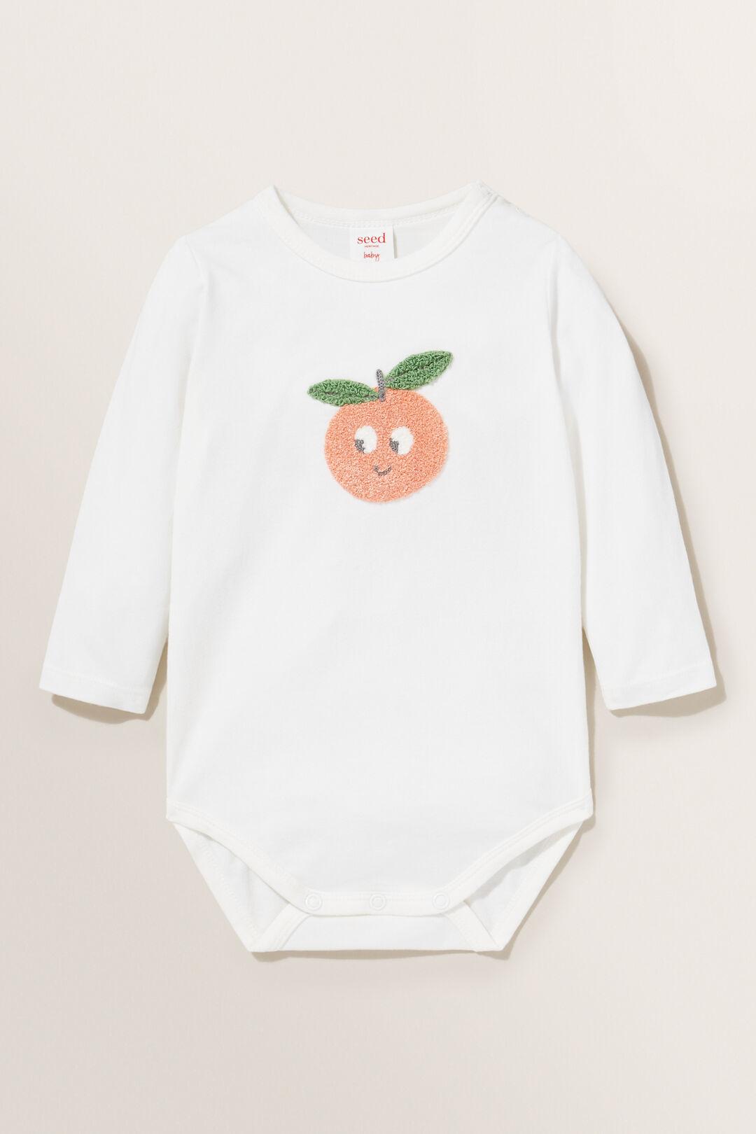 Peach Bodysuit  CANVAS  hi-res