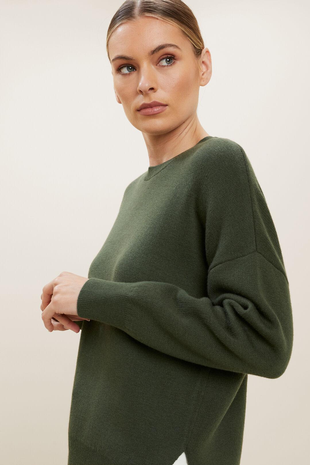 Hi-Low Sweater  BASIL  hi-res