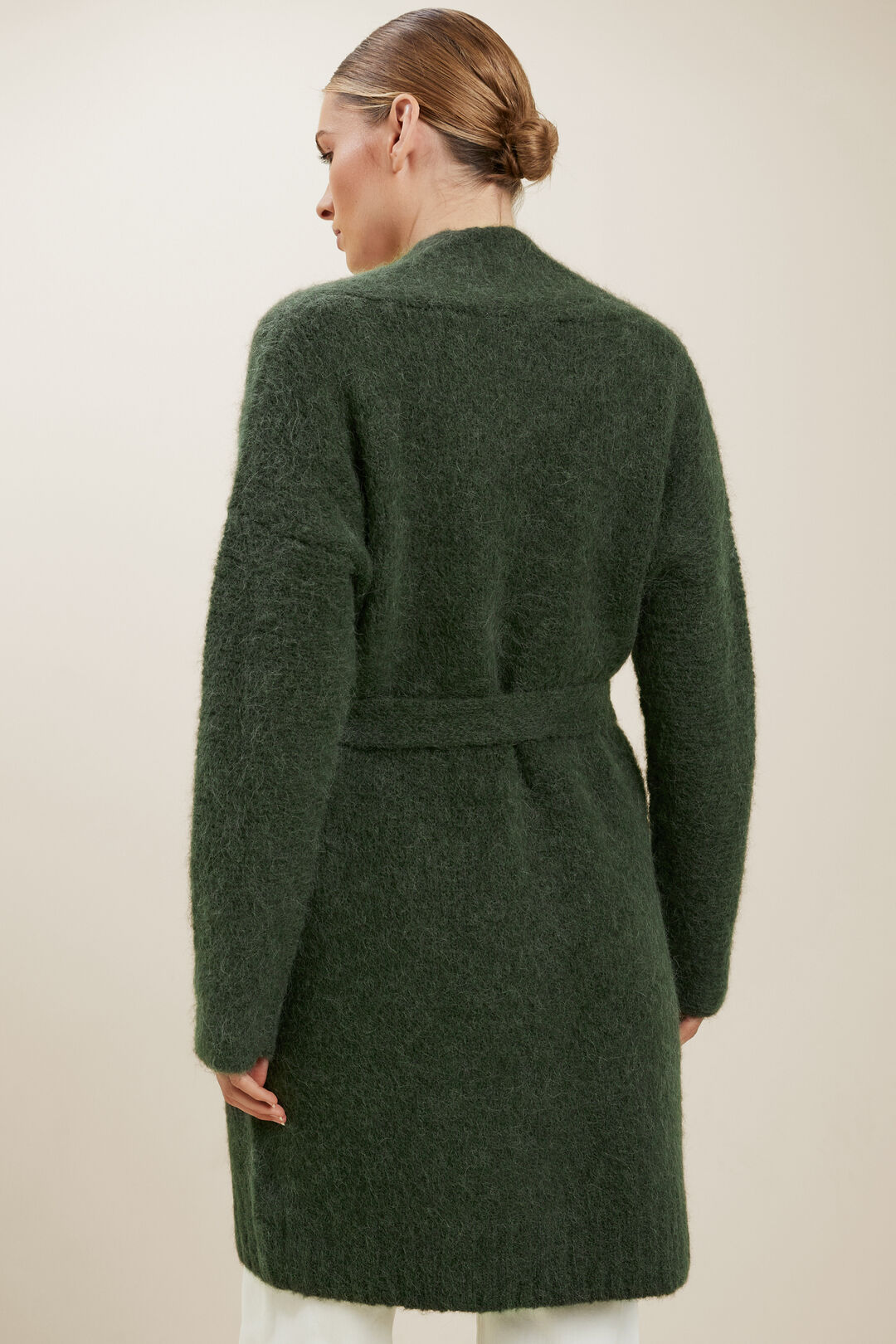 Relaxed Tie Cardigan  BASIL  hi-res