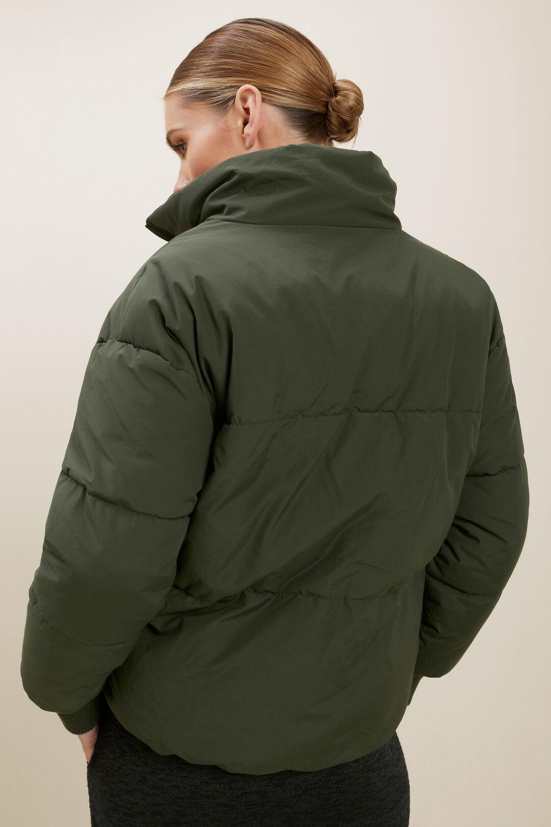 Funnel Neck Puffer Jacket  BASIL  hi-res