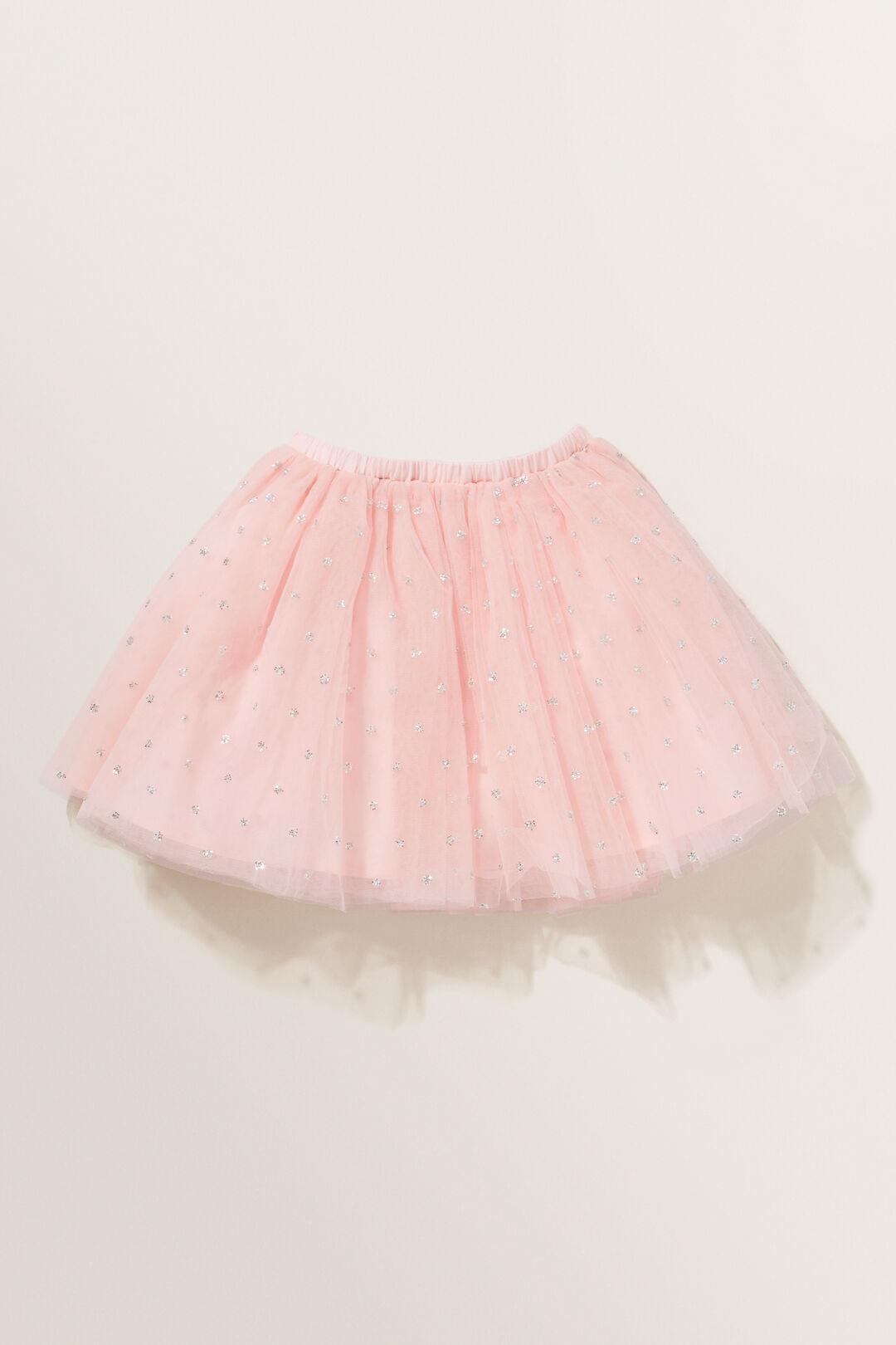 Glitter Tutu Skirt  DUSTY ROSE  hi-res