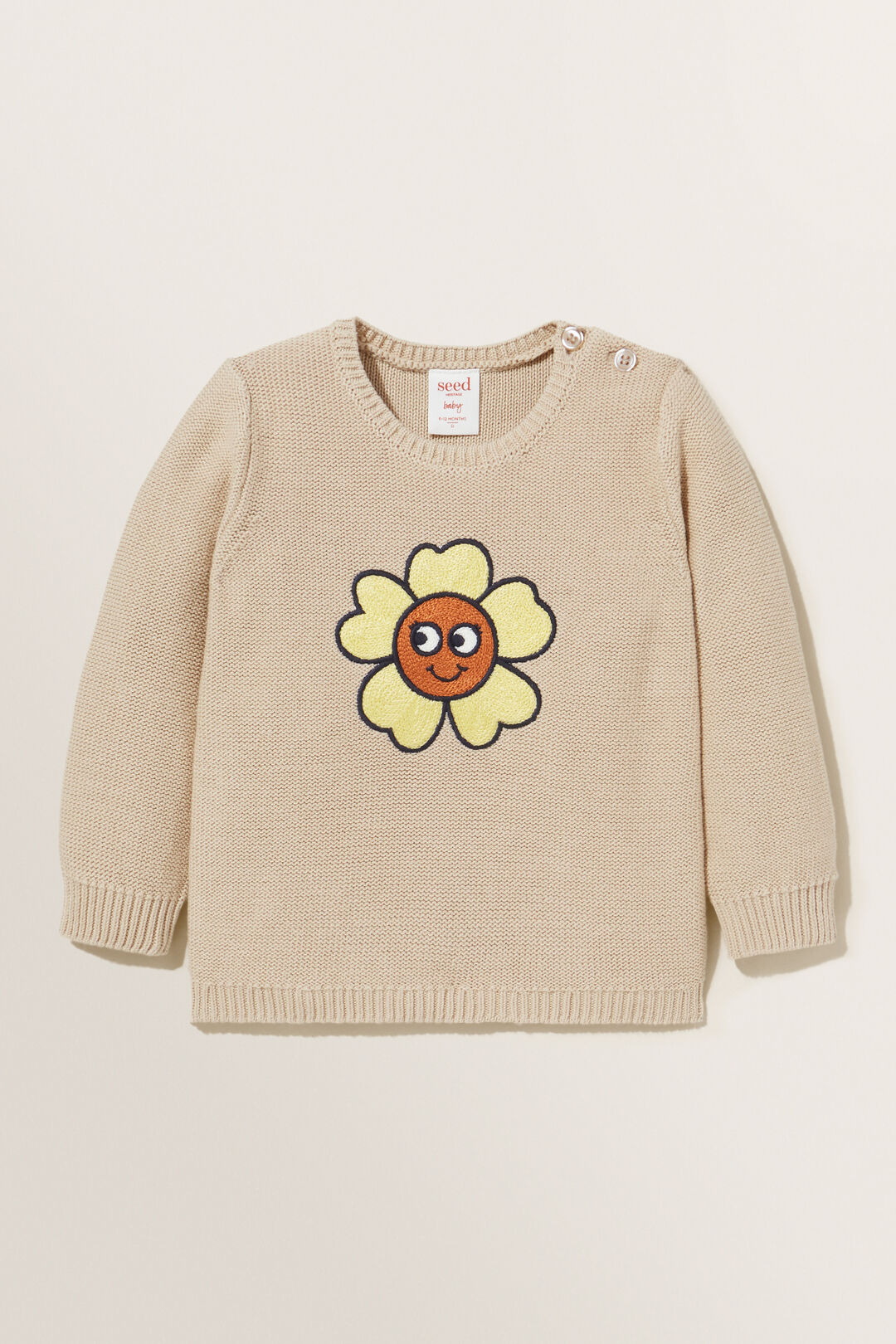 Buttercup Knit Sweater  CHAI  hi-res