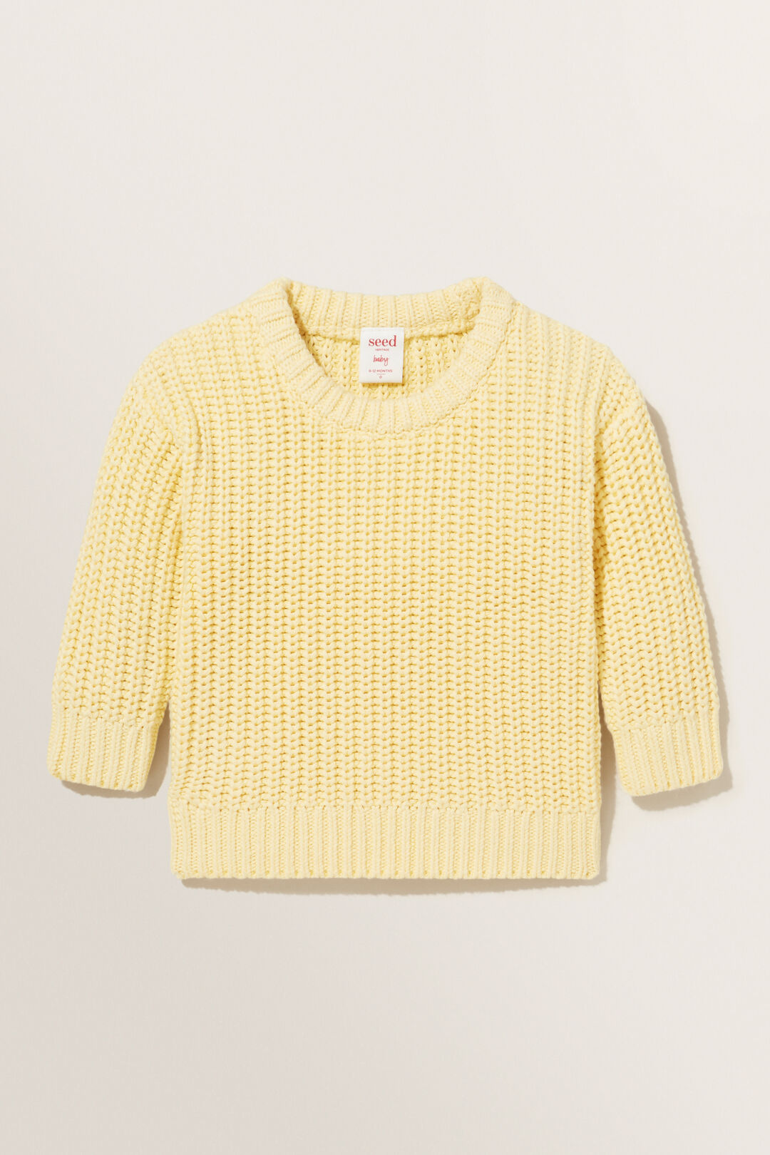Chunky Knit  BUTTERCUP  hi-res