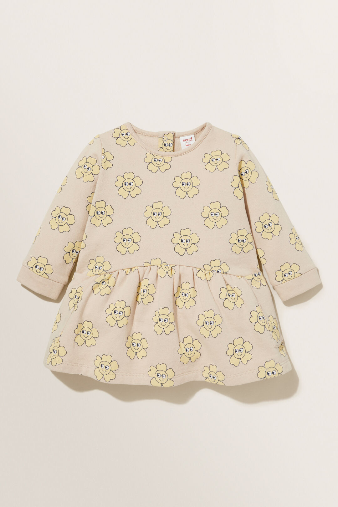Buttercup Terry Dress  CHAI  hi-res