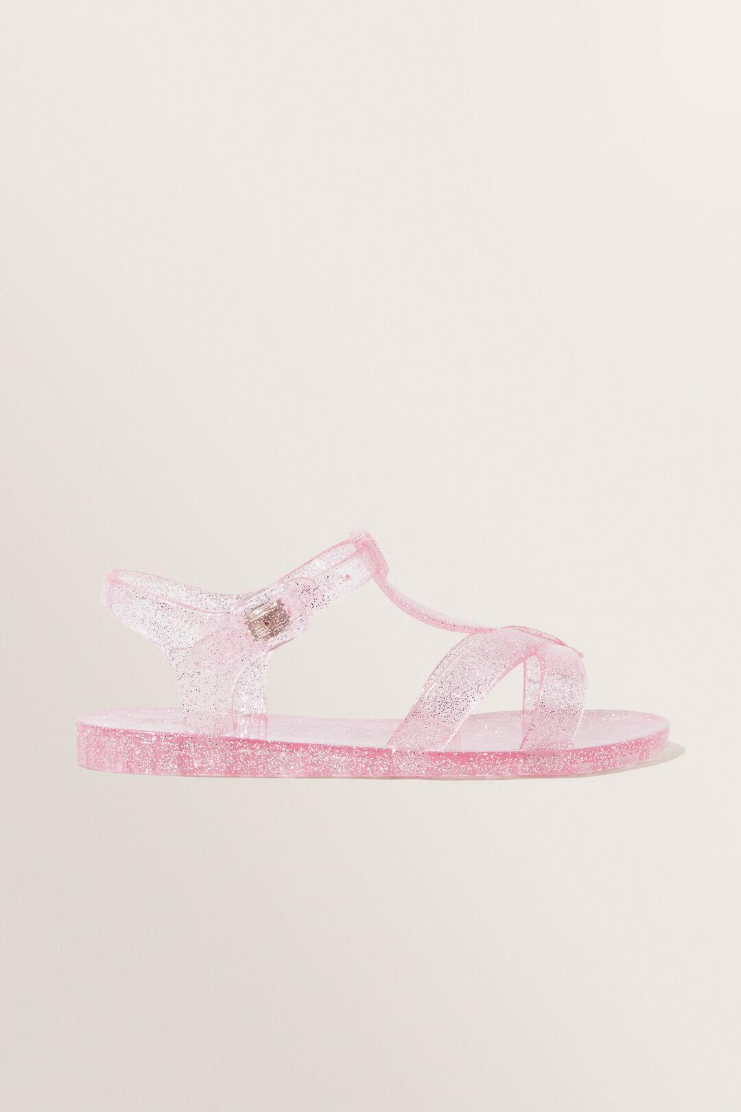 Light Pink Jelly Sandal  LIGHT PINK  hi-res