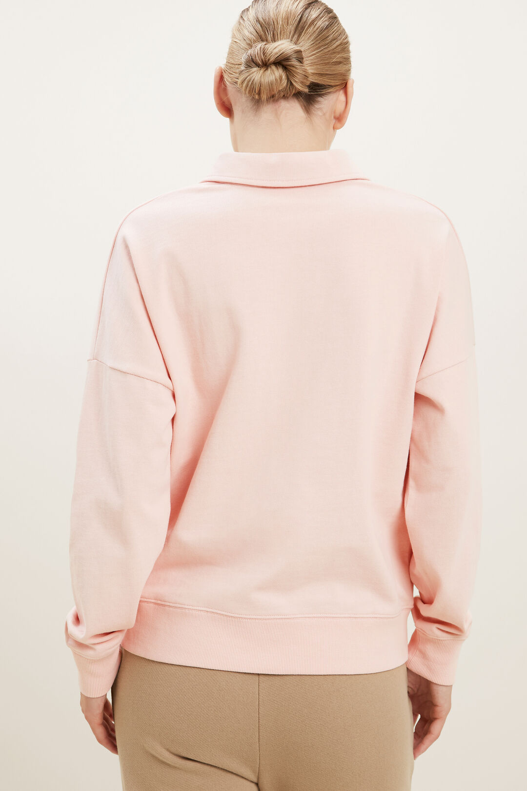Rugby Sweater  ASH PINK  hi-res
