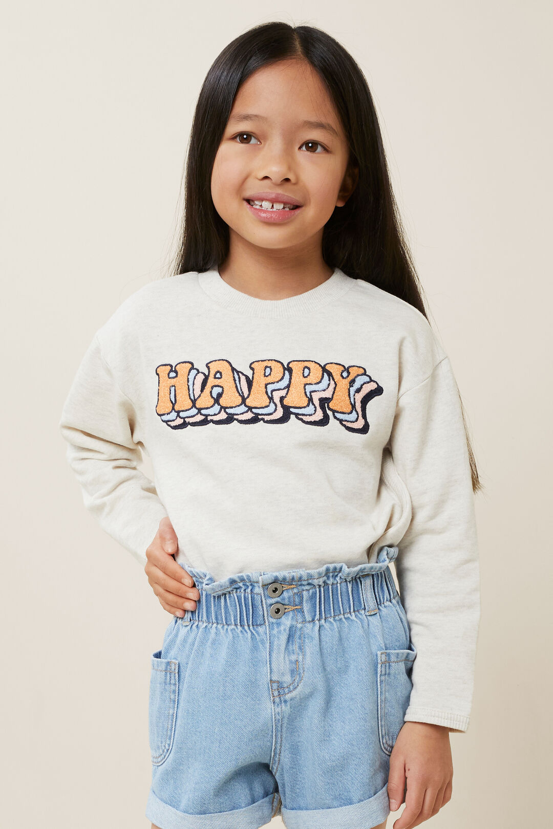 Happy Sweater  OAT MARLE  hi-res