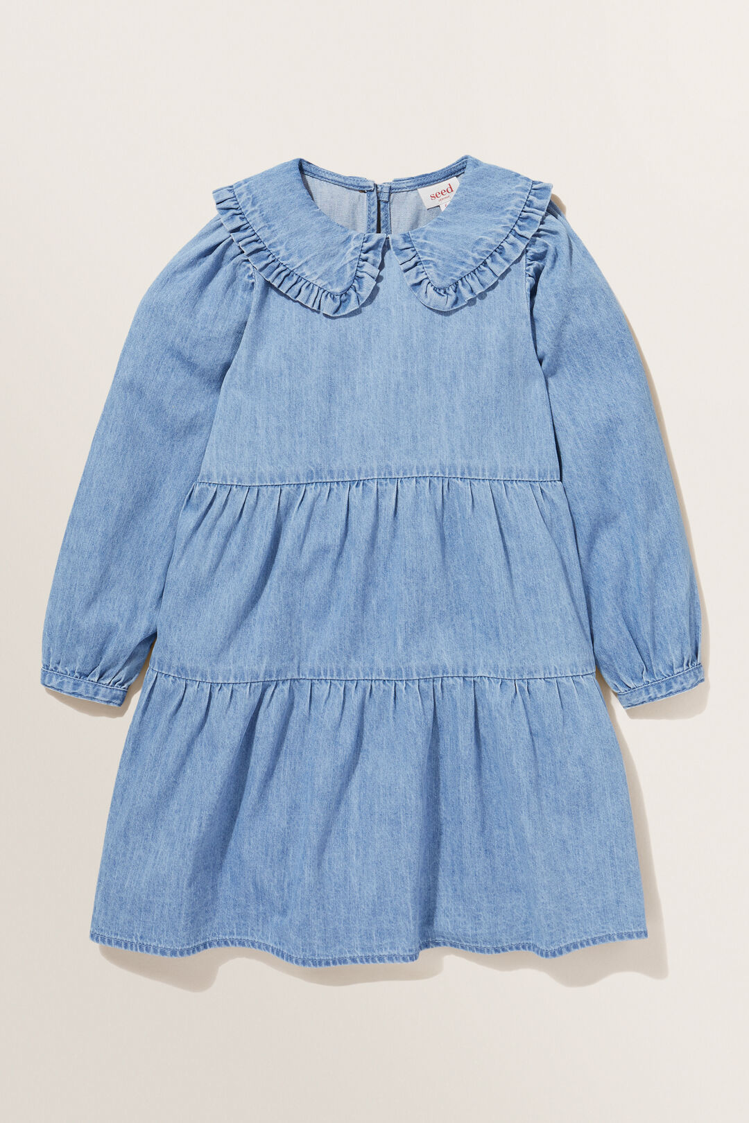 Midi Denim Dress  CLASSIC WASH  hi-res