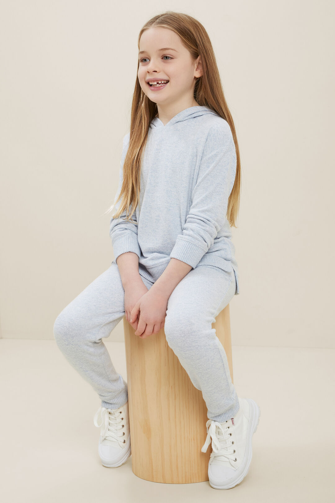 Marle Trackpants  BABY BLUE MARLE  hi-res