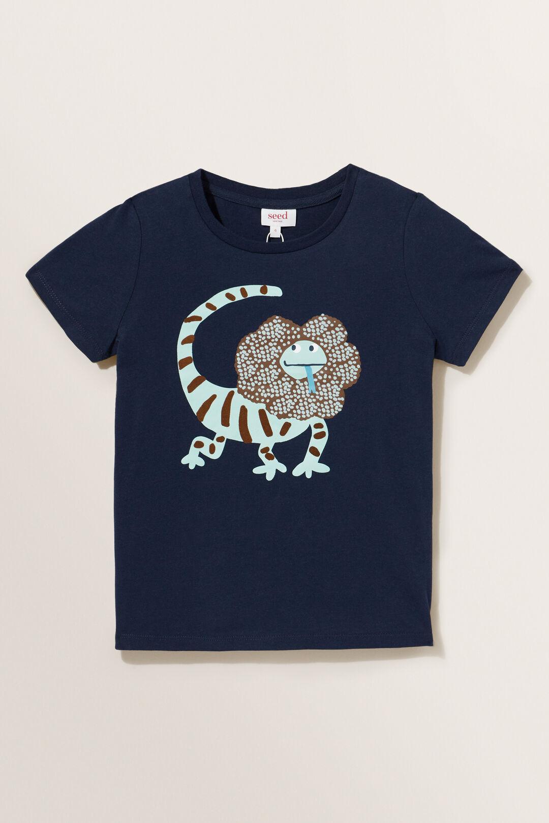 Lizard Tee  MIDNIGHT BLUE  hi-res