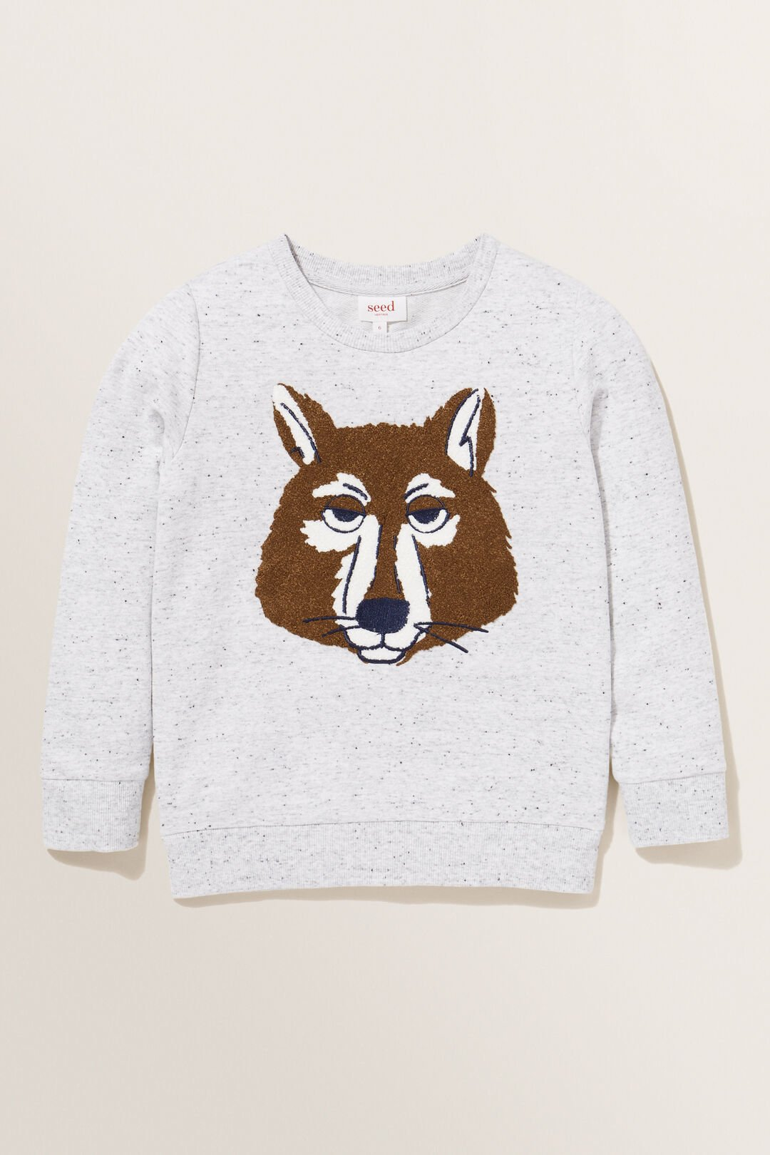 Wolf Sweater  CLOUDY MARLE  hi-res
