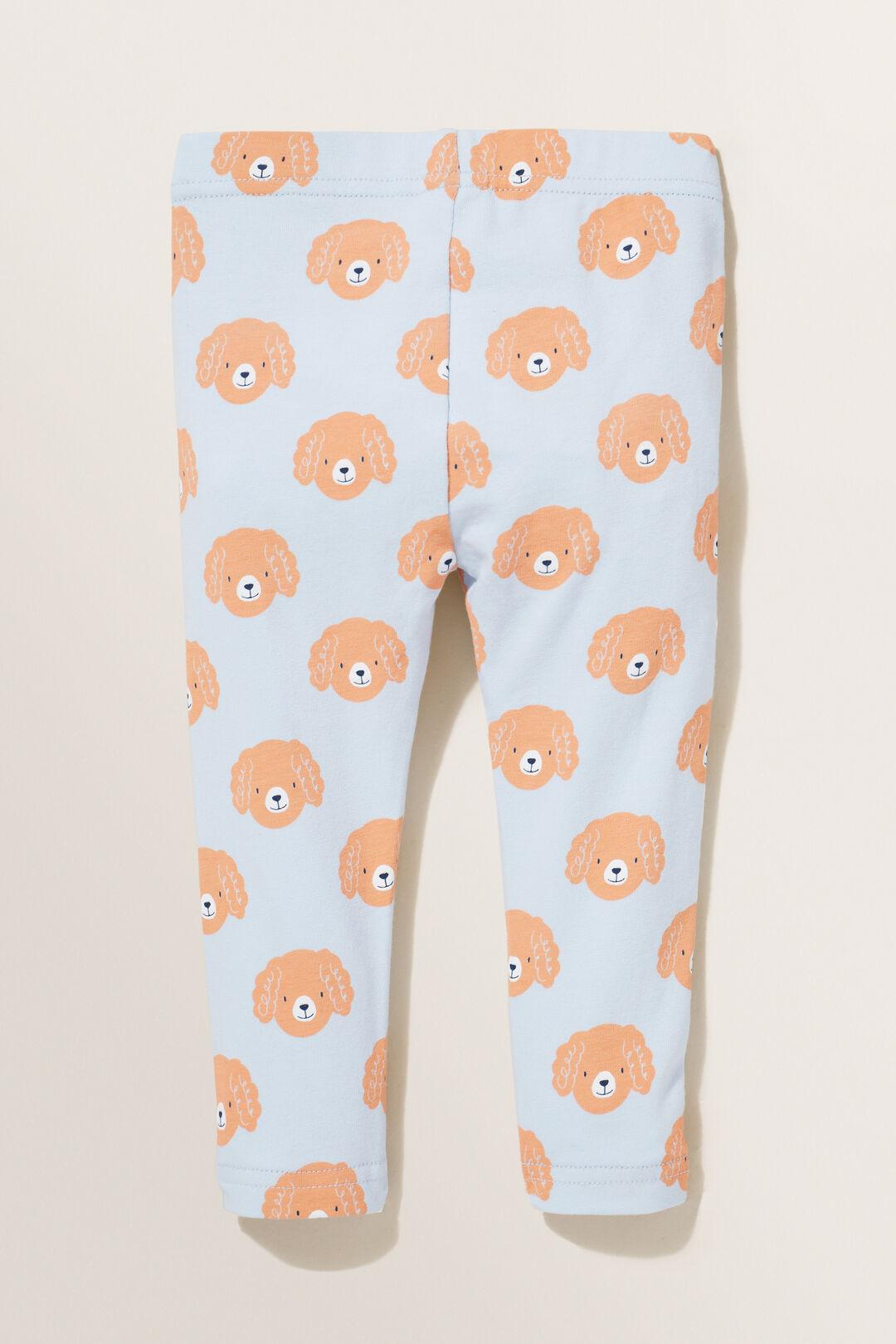 Poodle Leggings  BABY BLUE  hi-res