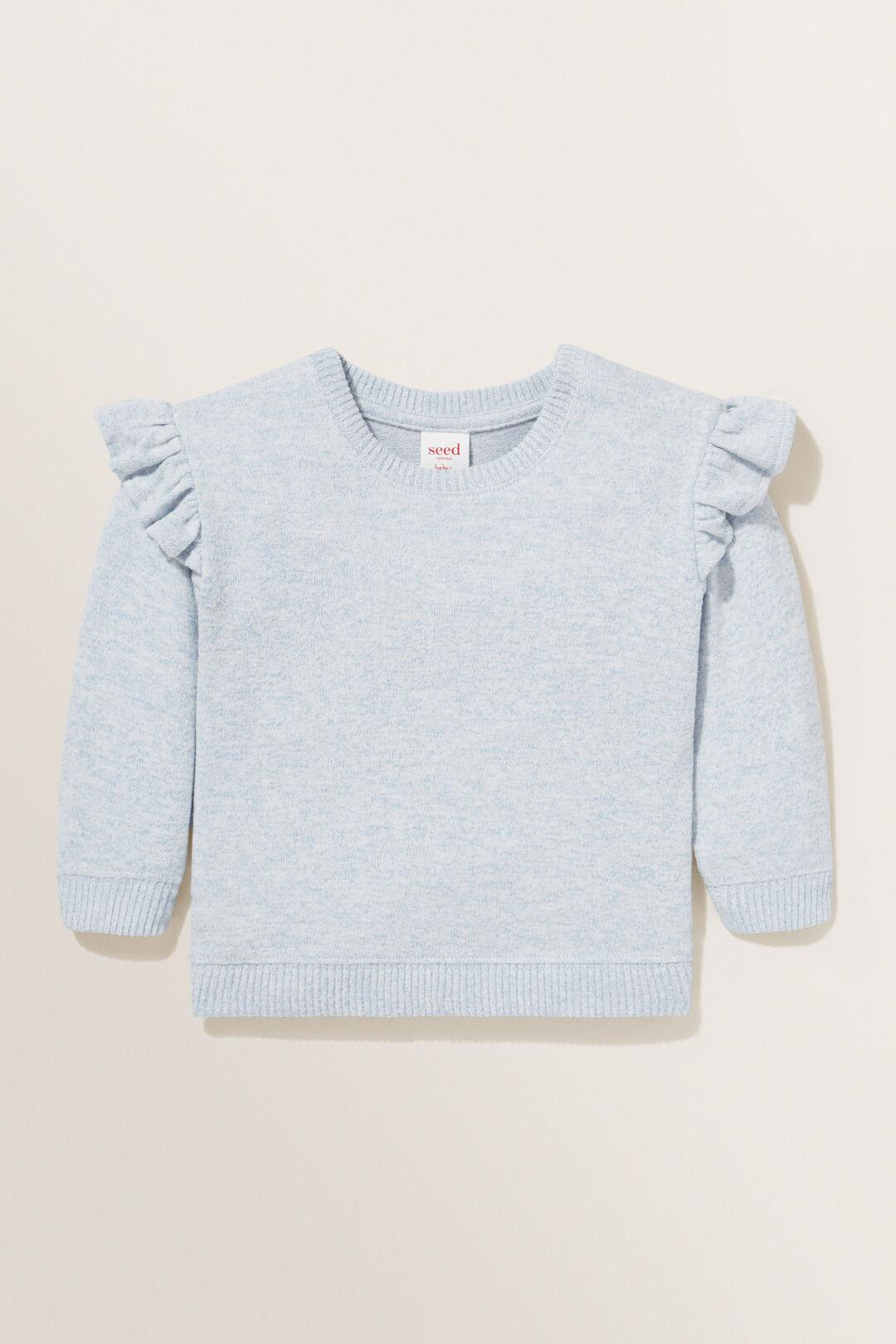 Brushed Marle Sweater  BABY BLUE MARLE  hi-res