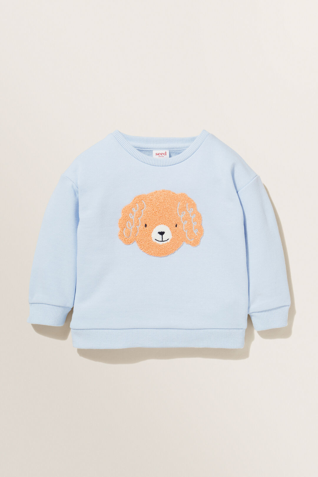 Poodle Sweater  BABY BLUE  hi-res