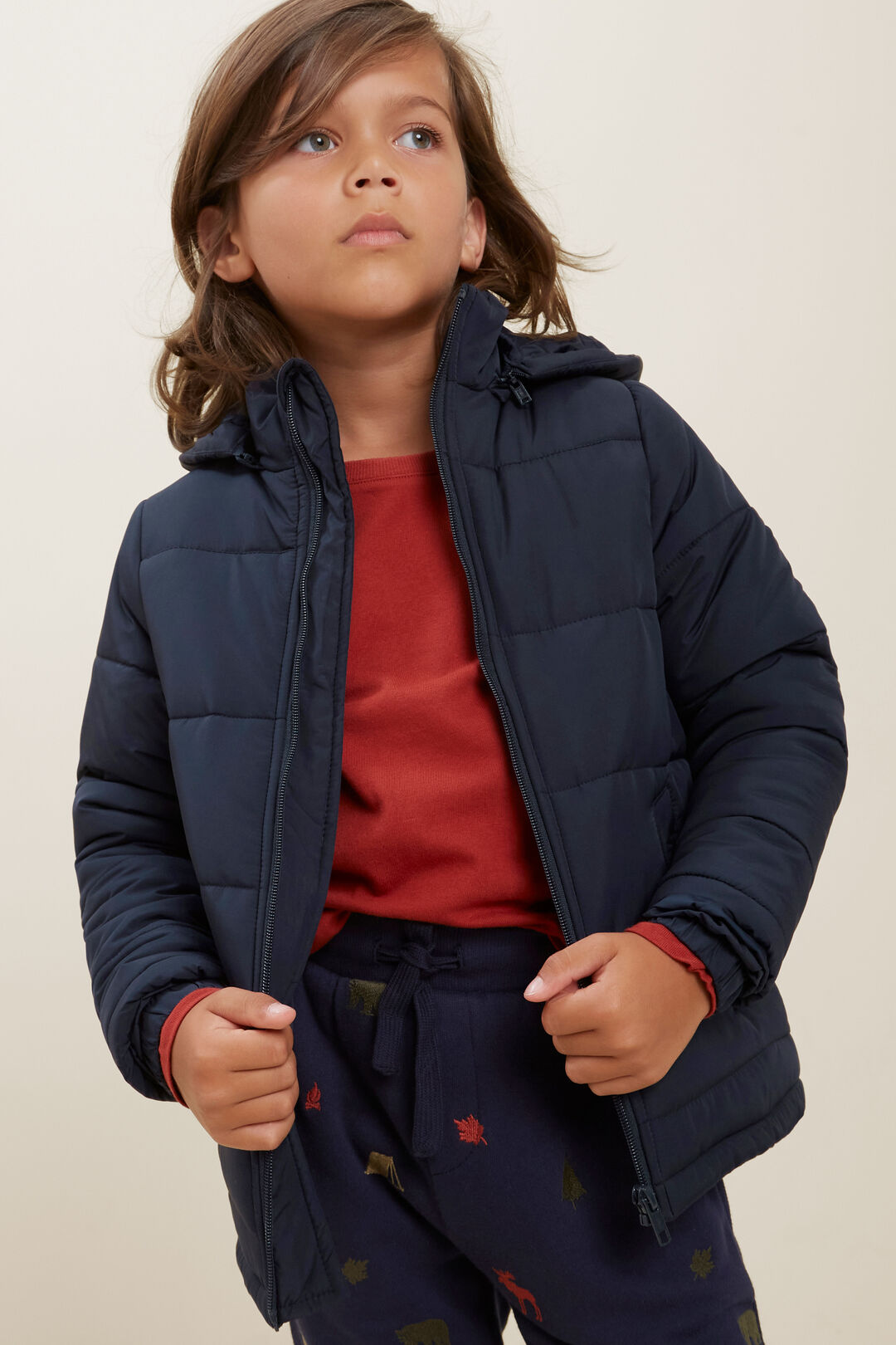 Puffer Jacket  MIDNIGHT BLUE  hi-res