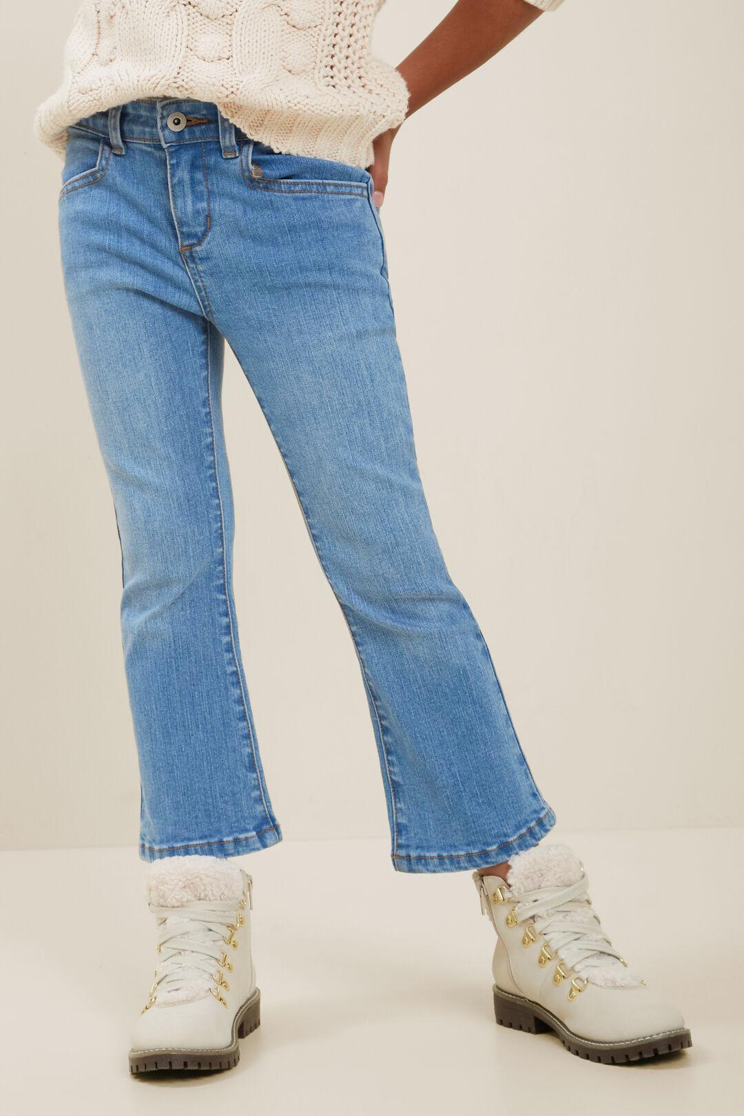 Flare Jeans  MID WASH  hi-res